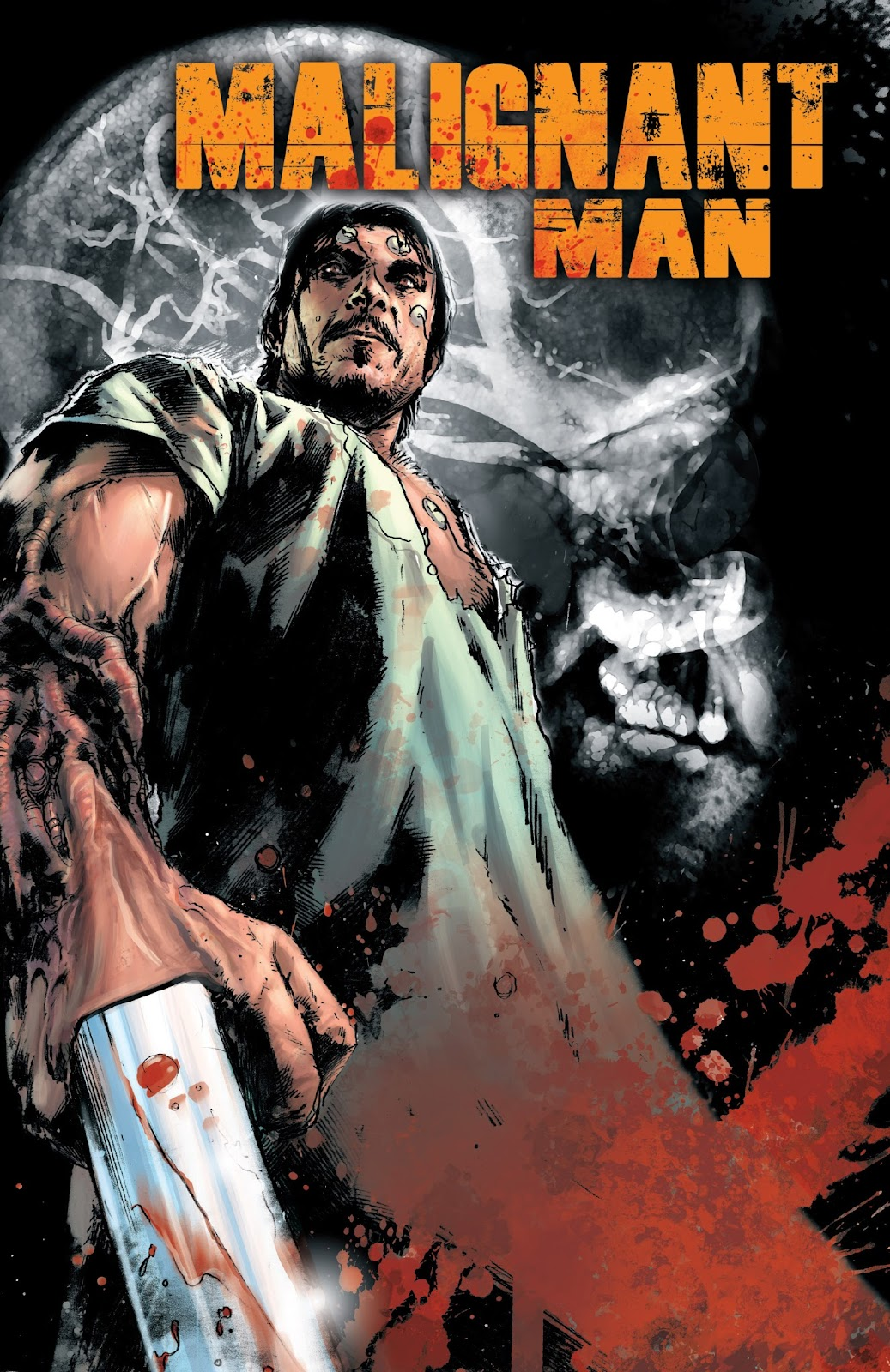 Malignant Man issue TPB - Page 1