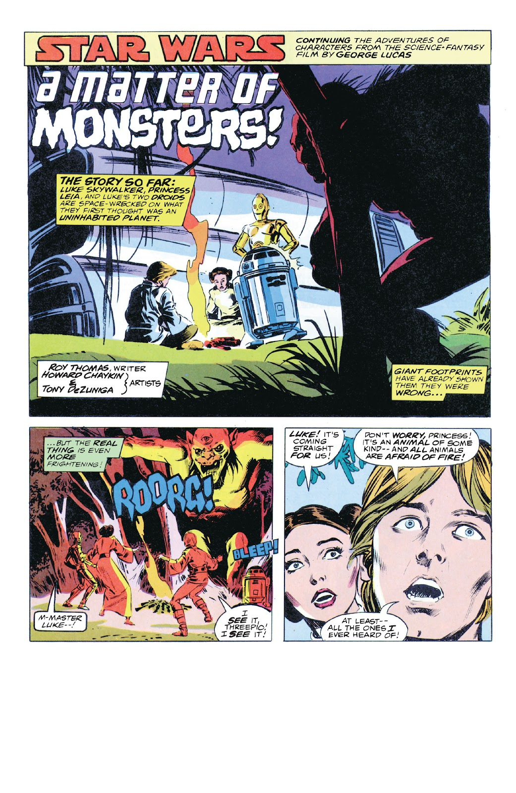 Read online Star Wars Legends: The Original Marvel Years - Epic Collection comic -  Issue # TPB 1 (Part 5) - 31