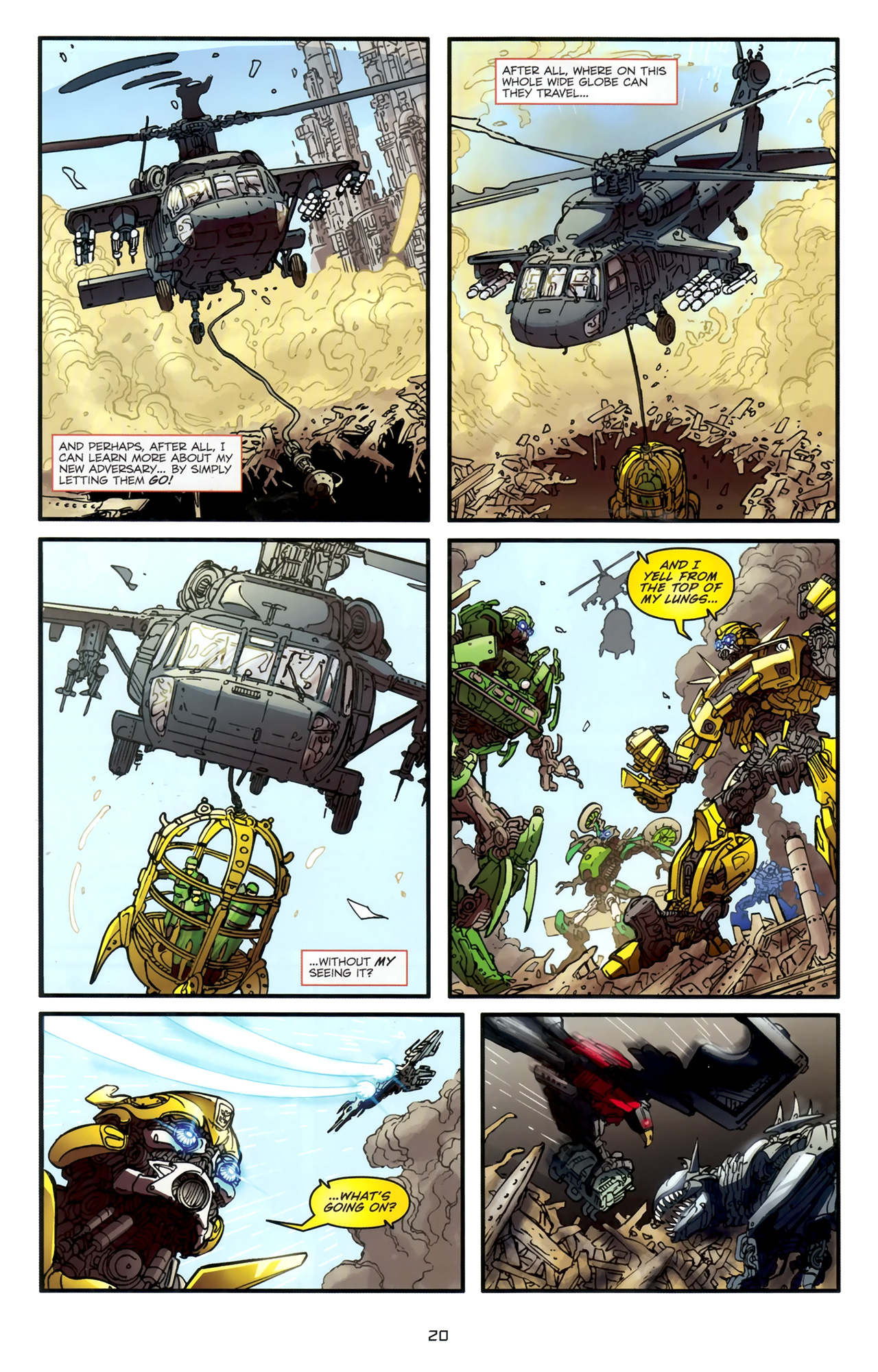 Read online Transformers: Nefarious comic -  Issue #1 - 24