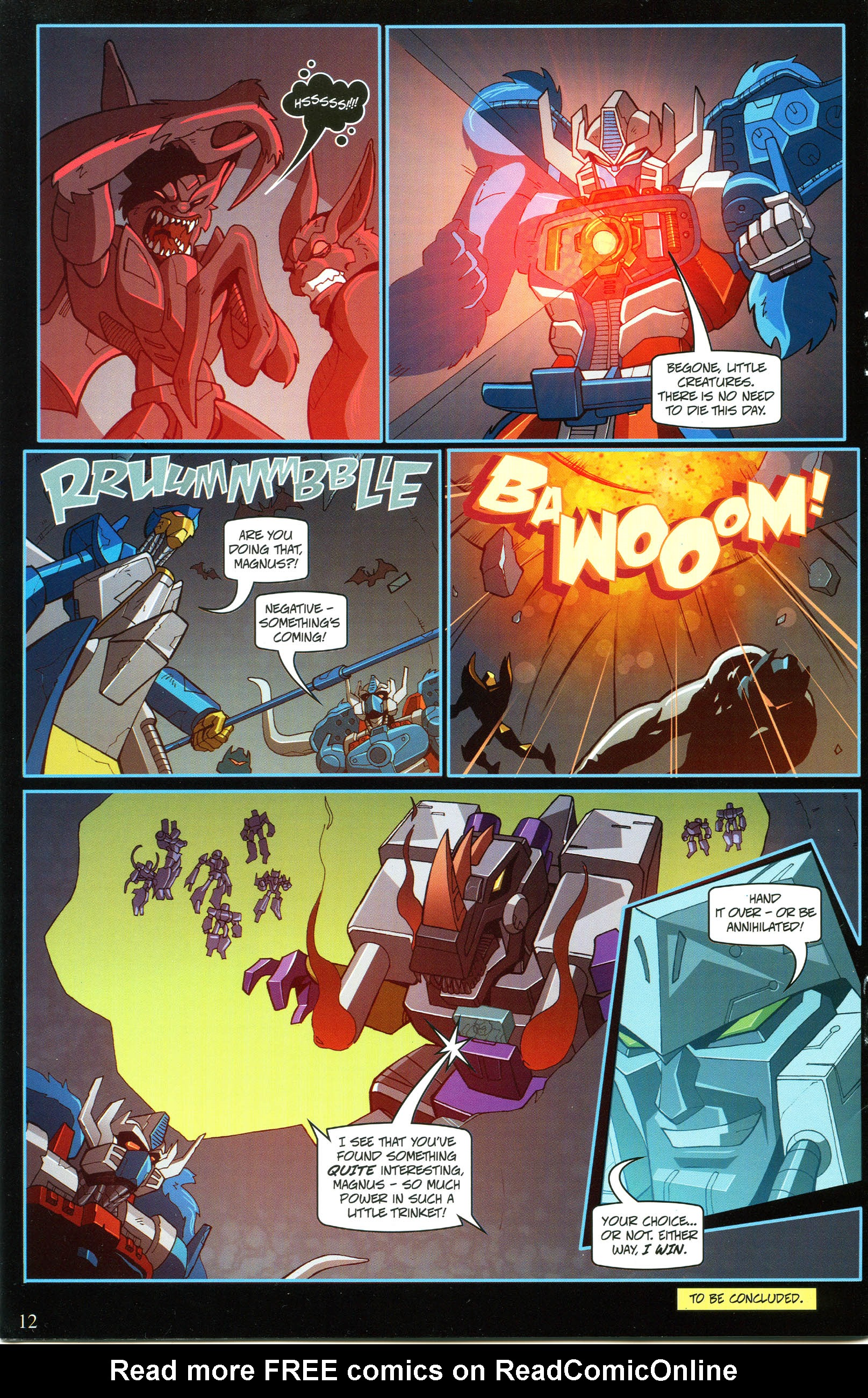 Read online Transformers: Collectors' Club comic -  Issue #53 - 12