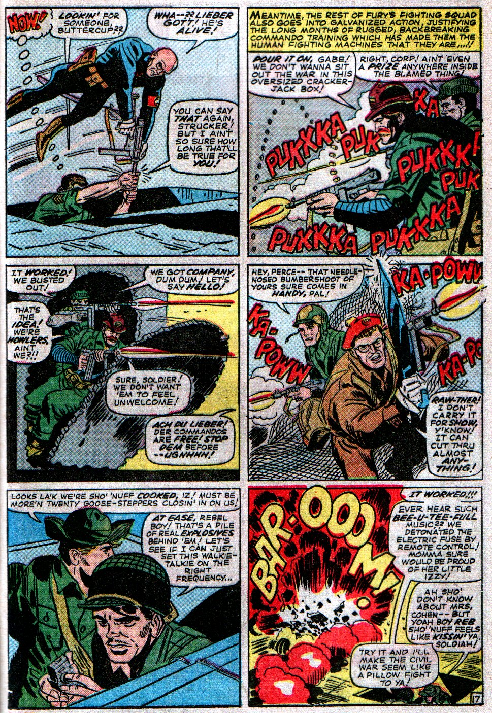 Read online Sgt. Fury comic -  Issue #14 - 25