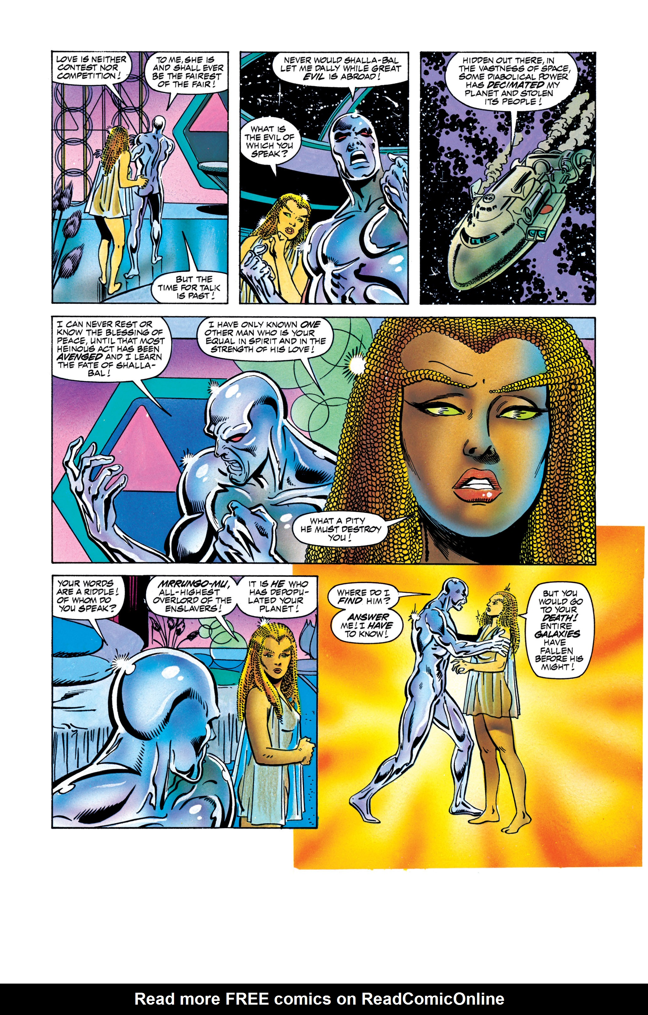 Read online Silver Surfer: Parable comic -  Issue # TPB - 105