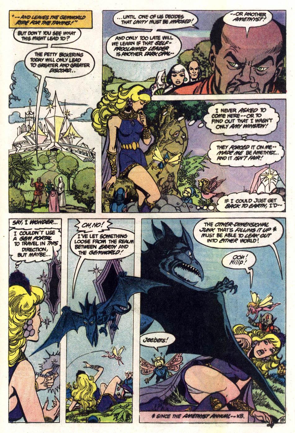 Read online Amethyst (1985) comic -  Issue #2 - 17