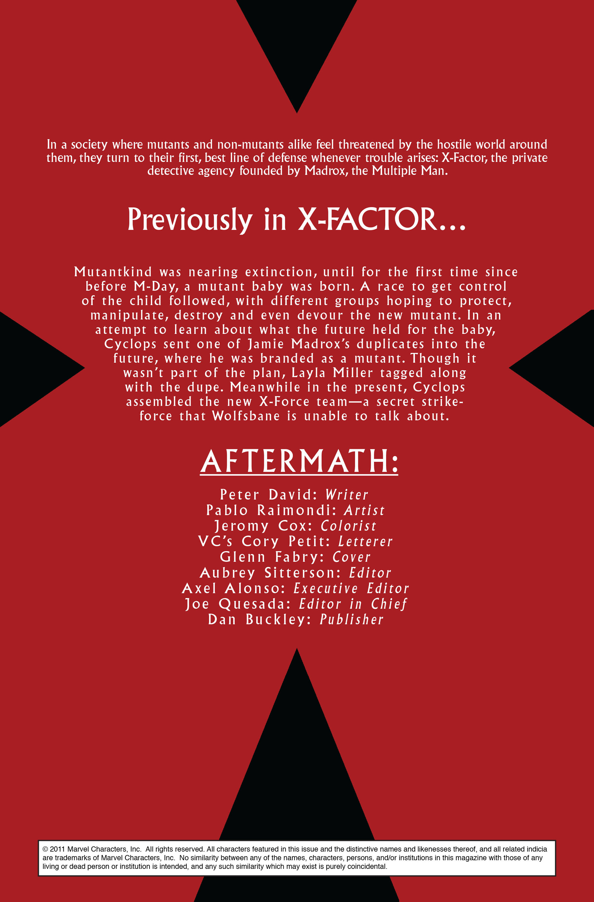 Read online X-Factor (2006) comic -  Issue #28 - 2