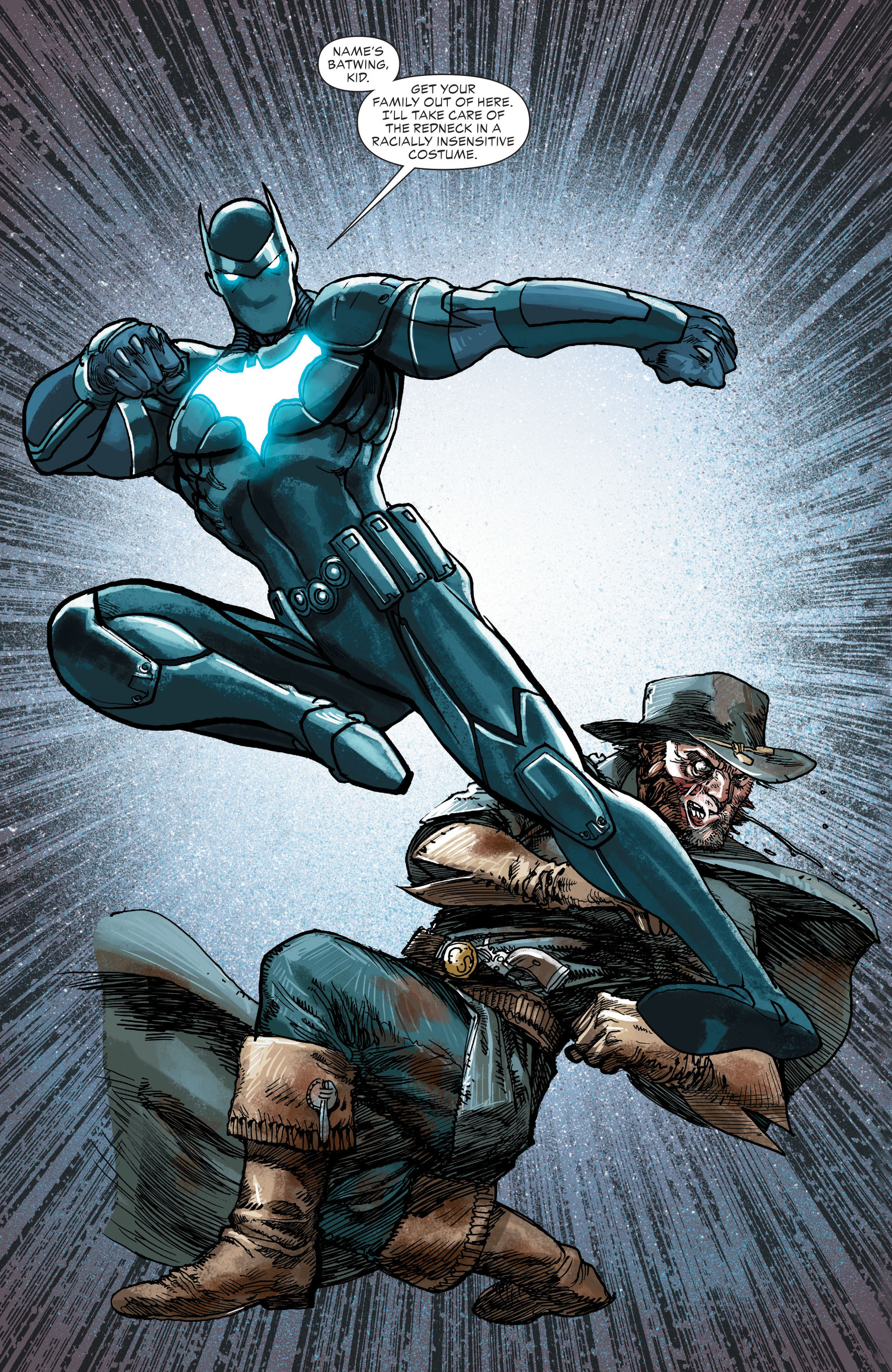 Read online All-Star Western (2011) comic -  Issue #21 - 15