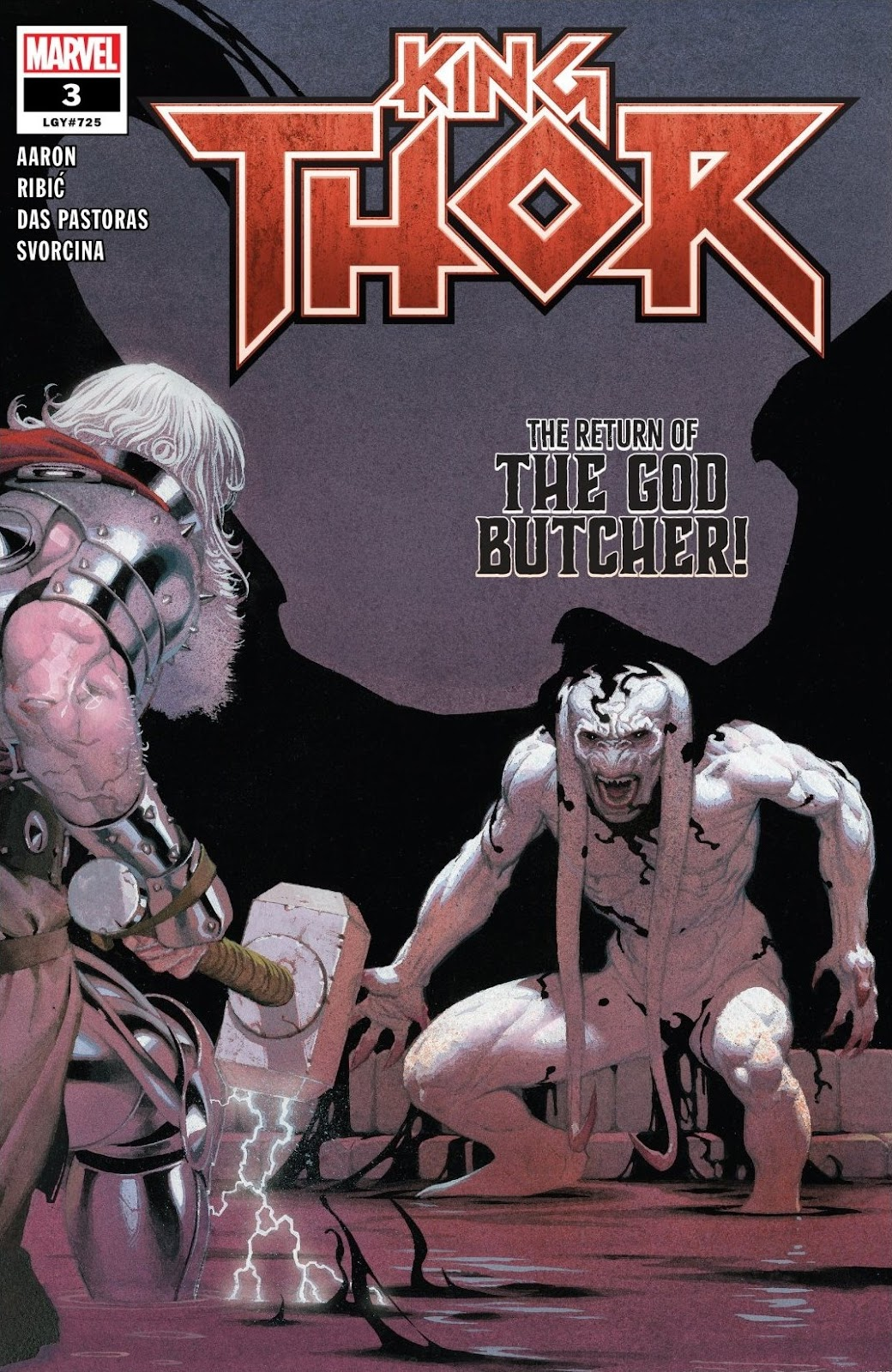 Read online King Thor comic -  Issue #3 - 1