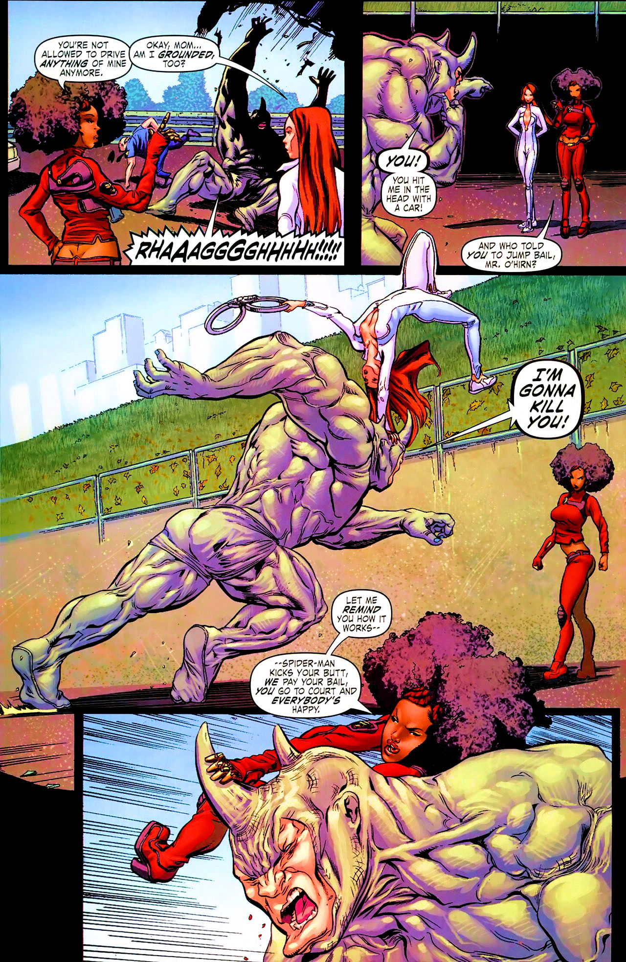 Read online Daughters of the Dragon comic -  Issue #1 - 8