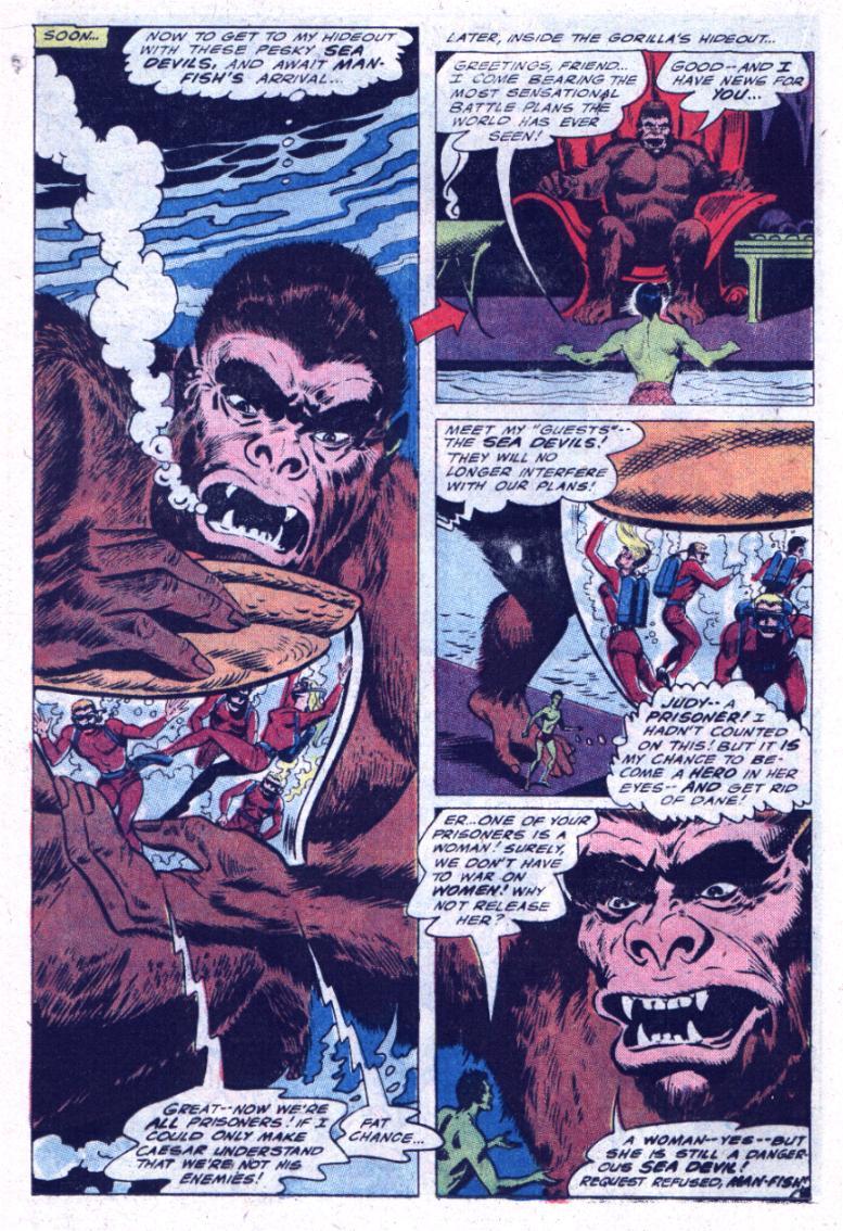Read online Sea Devils comic -  Issue #30 - 21