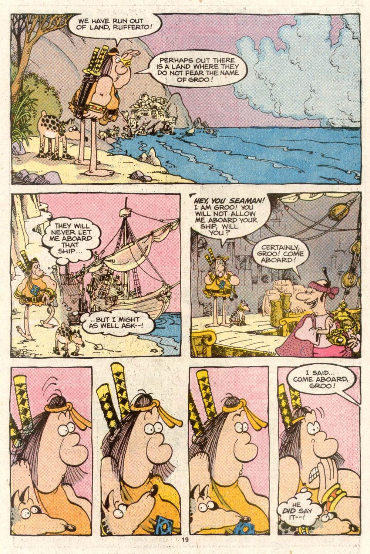 Read online Sergio Aragonés Groo the Wanderer comic -  Issue #48 - 19