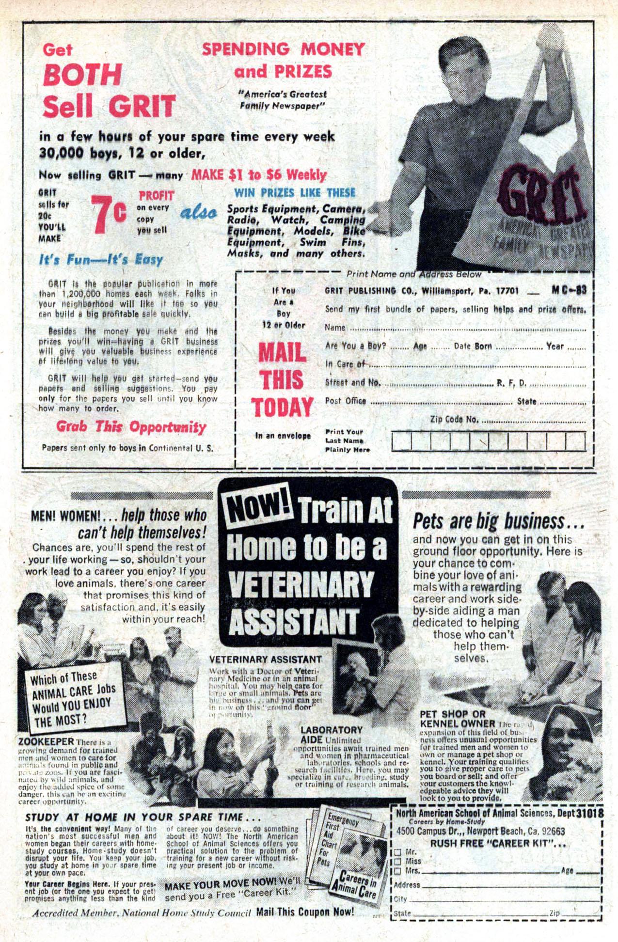 Read online Amazing Adventures (1970) comic -  Issue #20 - 25