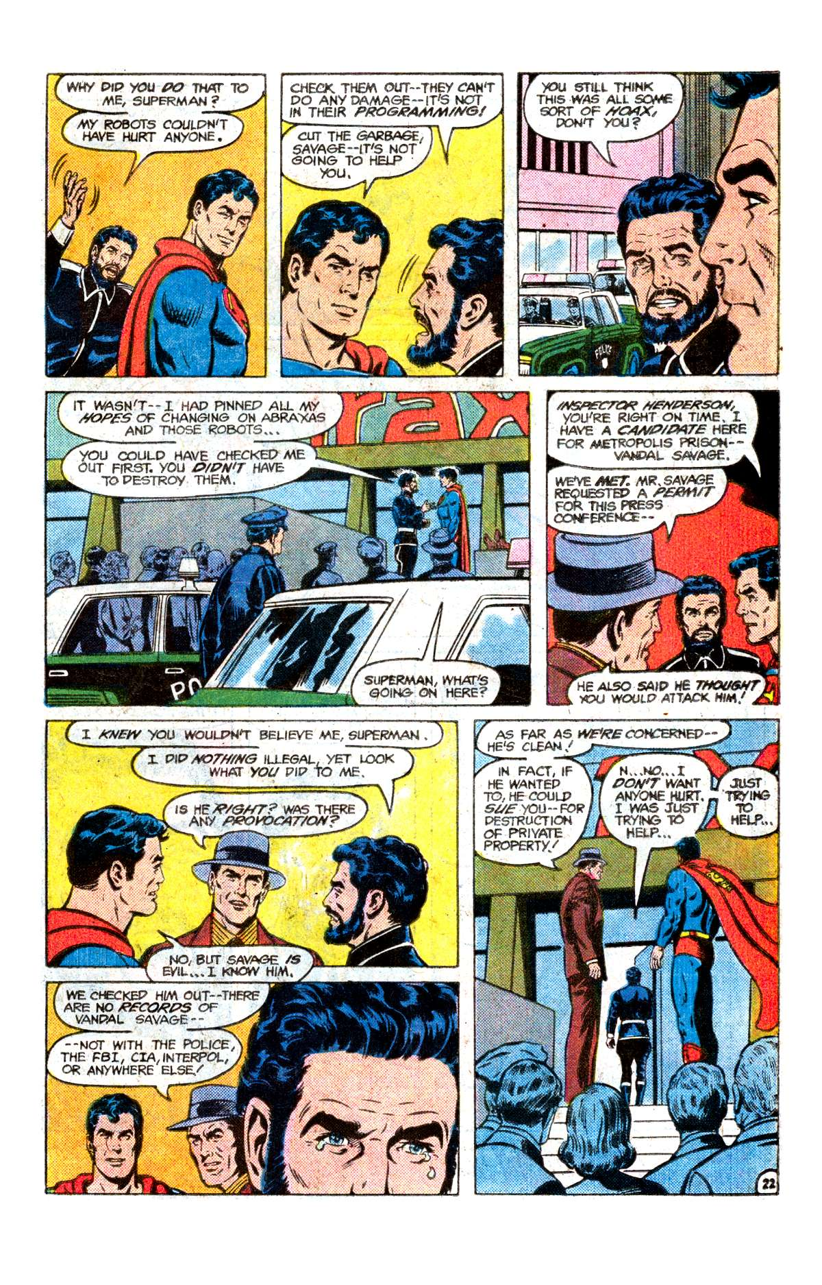Read online Action Comics (1938) comic -  Issue #542 - 23