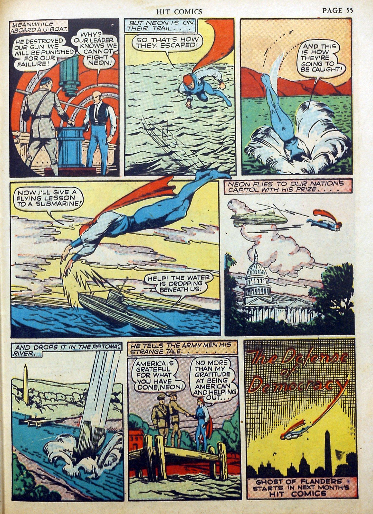 Read online Hit Comics comic -  Issue #17 - 57