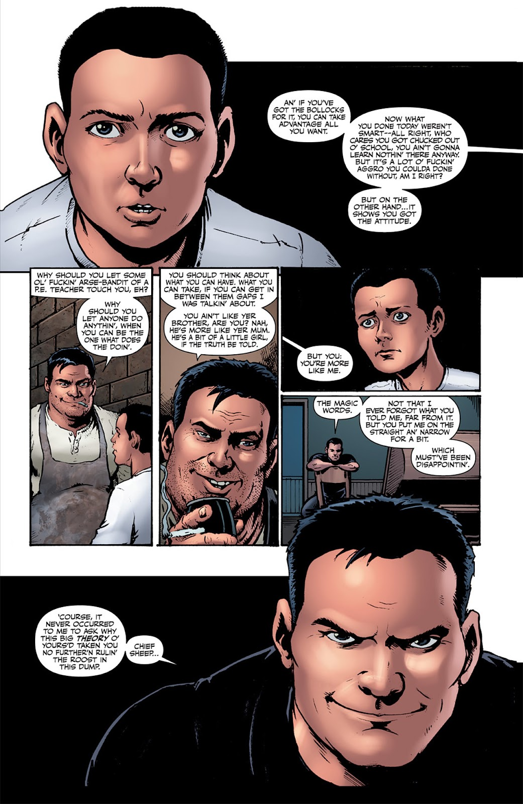 Read online The Boys: Butcher, Baker, Candlestickmaker comic -  Issue #1 - 19