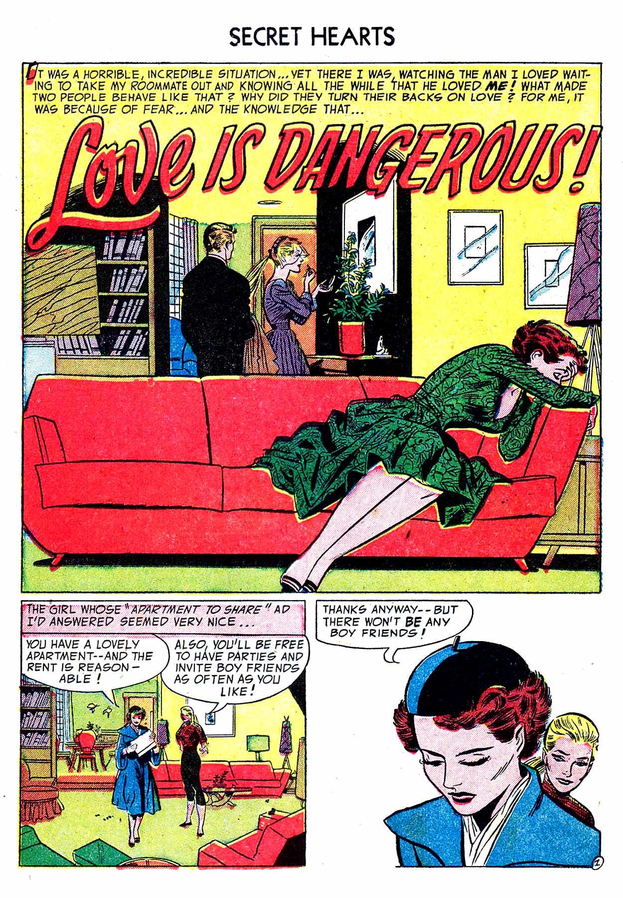 Read online Secret Hearts comic -  Issue #19 - 11