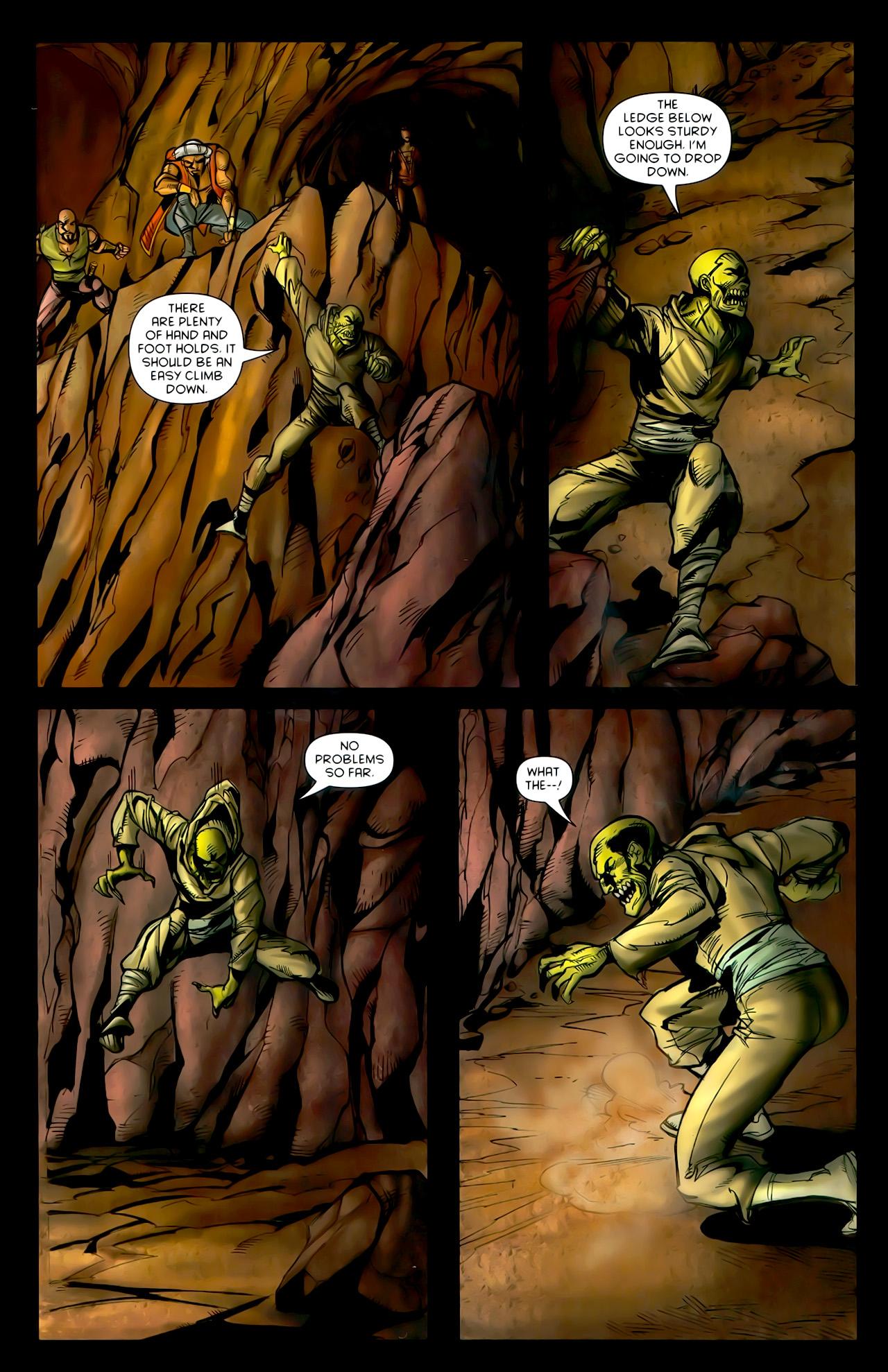 Read online 1001 Arabian Nights: The Adventures of Sinbad comic -  Issue #10 - 15