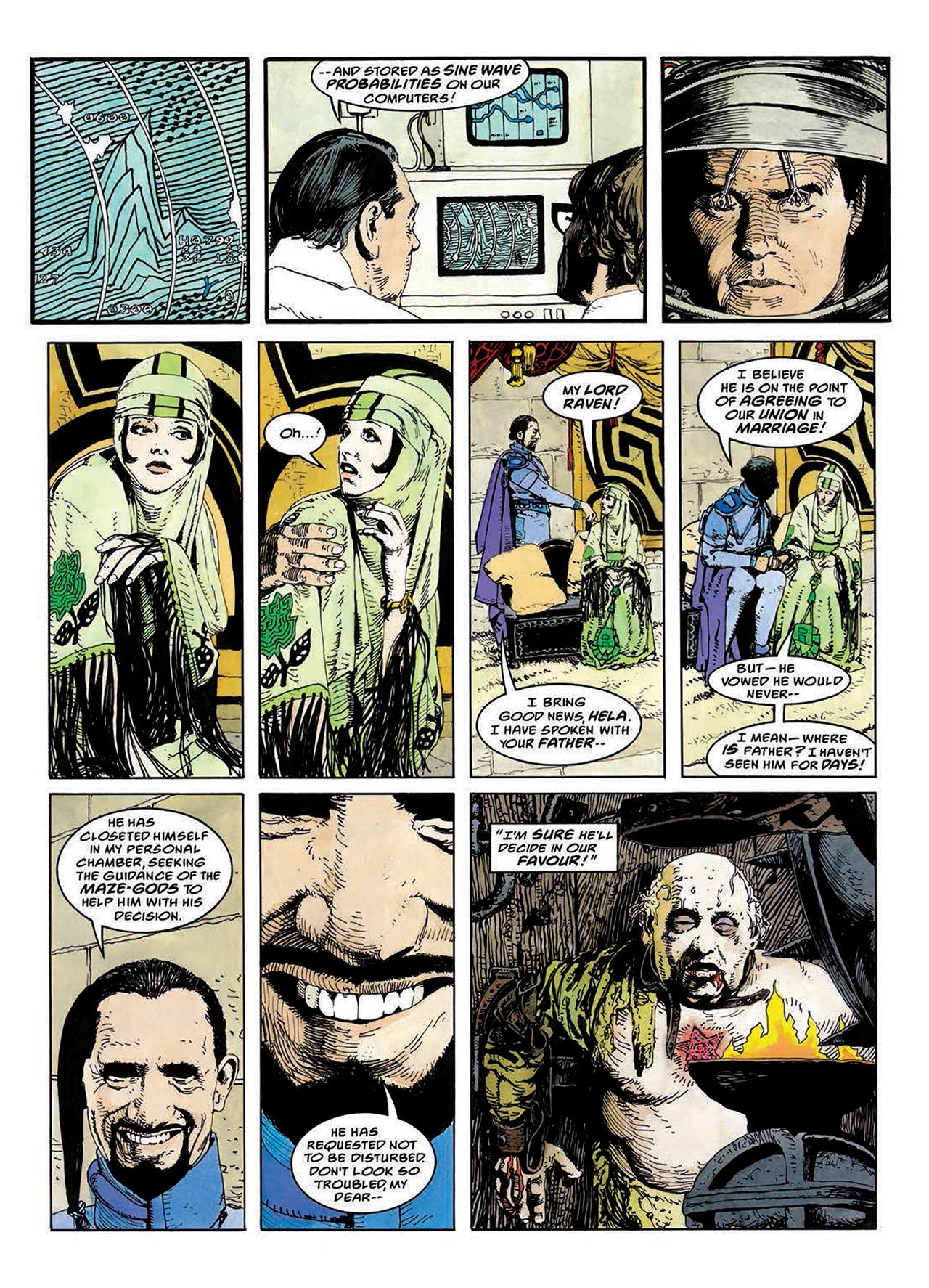 Read online Mazeworld comic -  Issue # TPB - 85