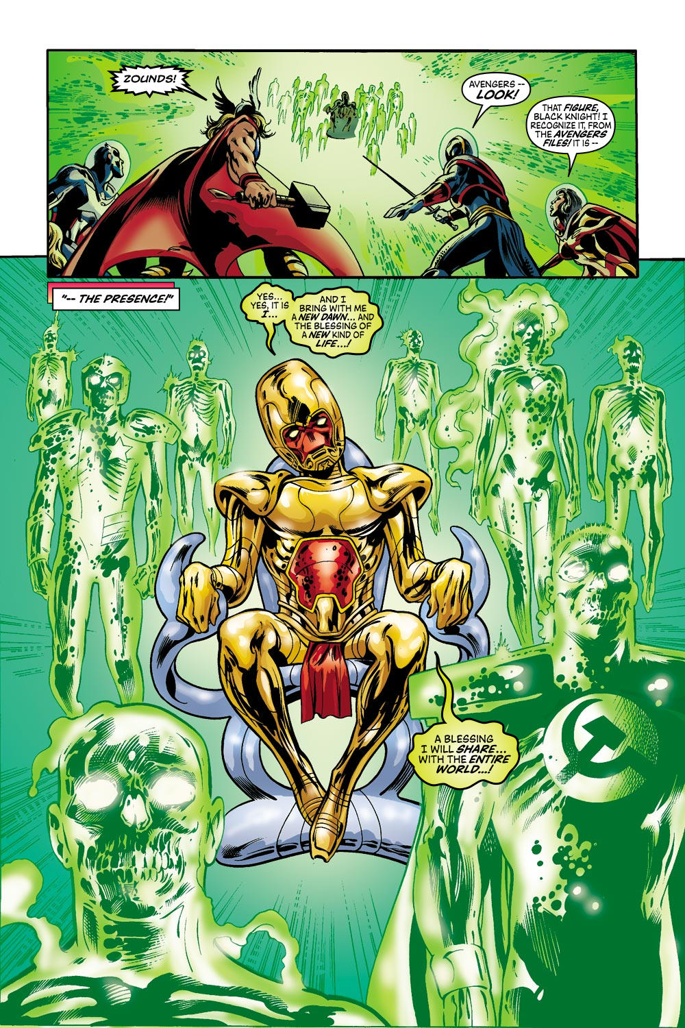 Read online Avengers (1998) comic -  Issue #42 - 20