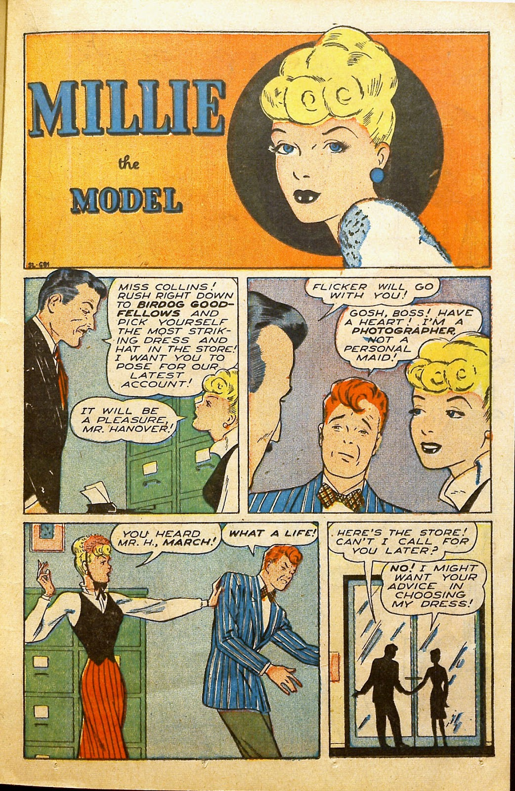 Read online Millie the Model comic -  Issue #2 - 29