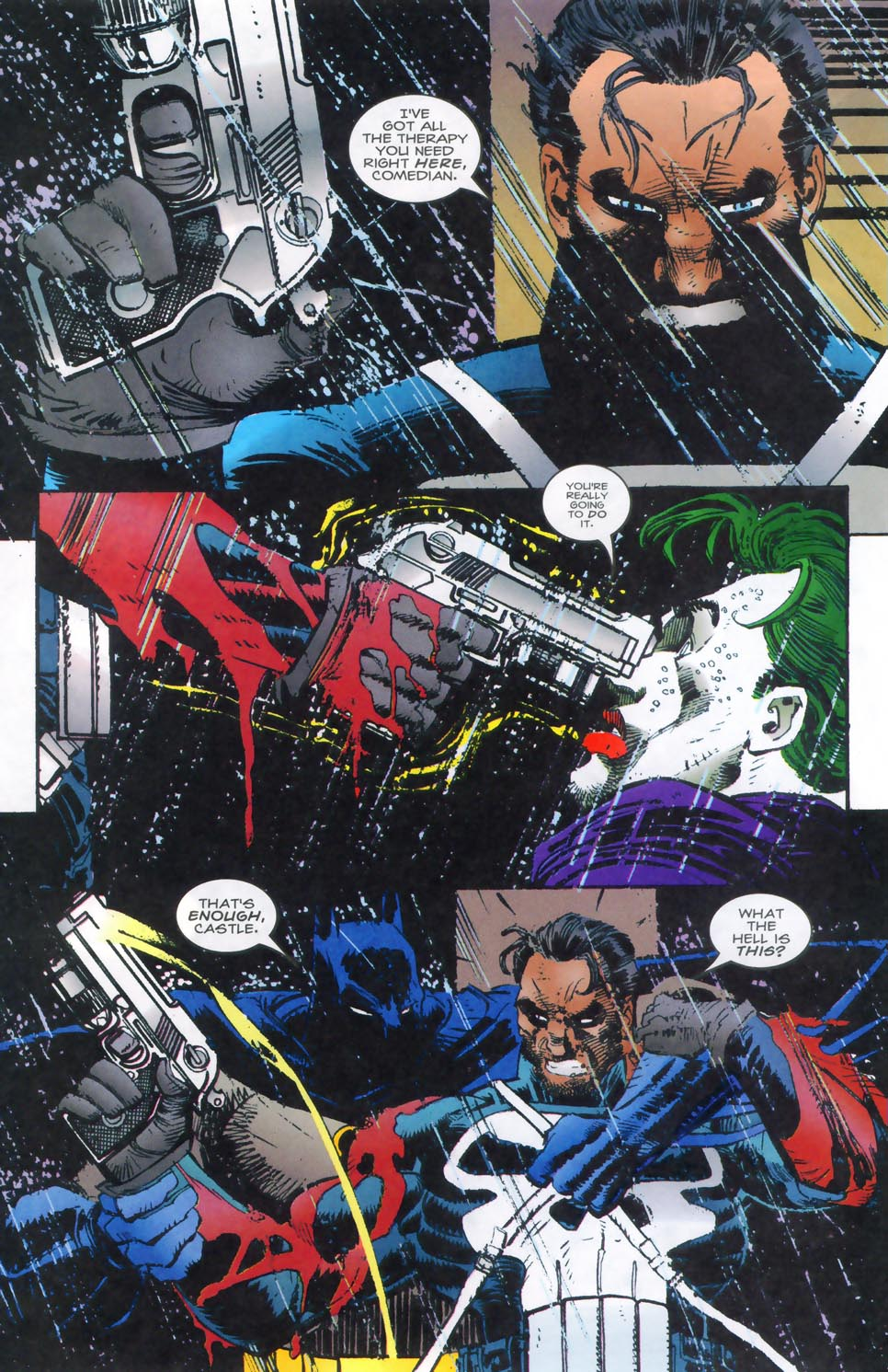 Read online Punisher/Batman: Deadly Knights comic -  Issue # Full - 42