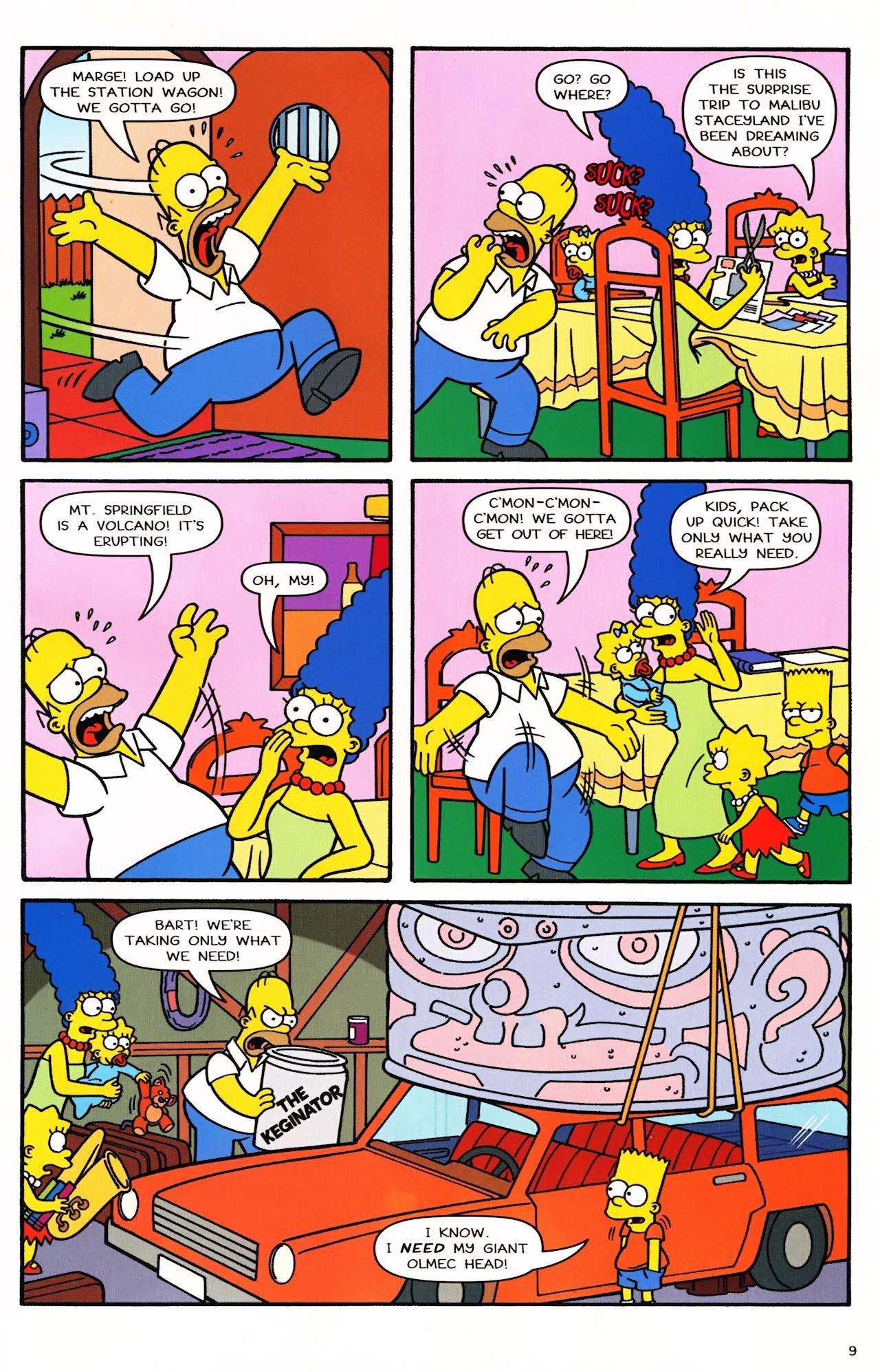 Read online Simpsons Comics comic -  Issue #152 - 8