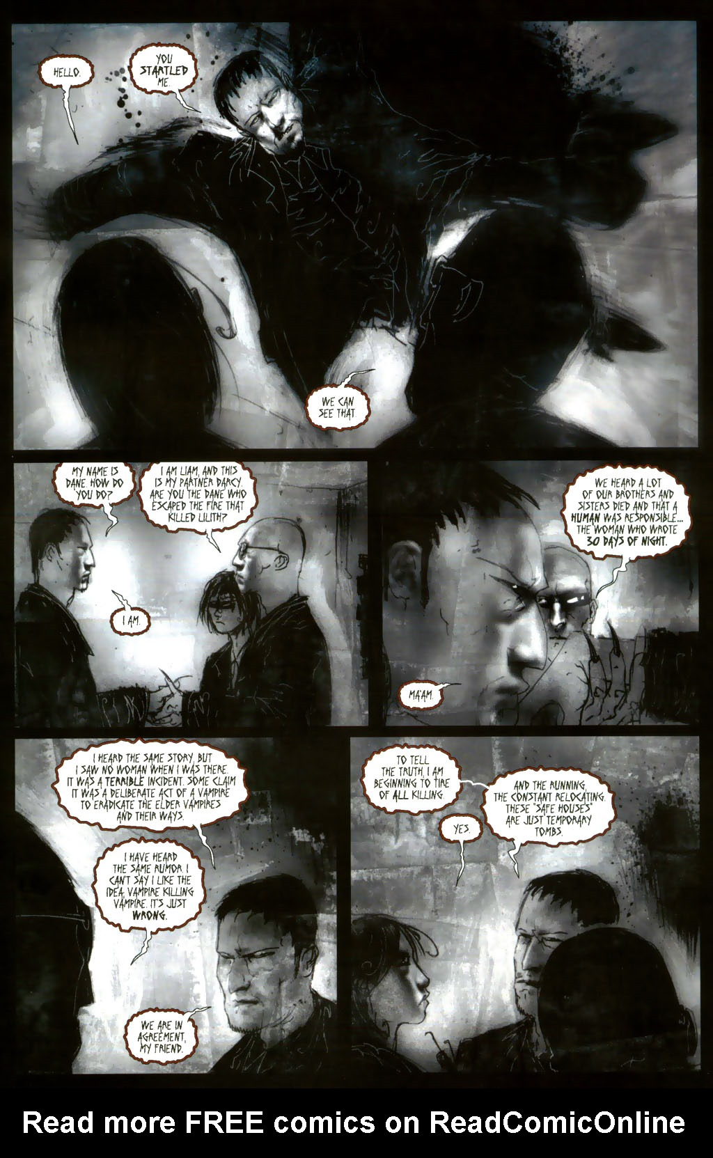 Read online 30 Days of Night: Return to Barrow comic -  Issue #3 - 5
