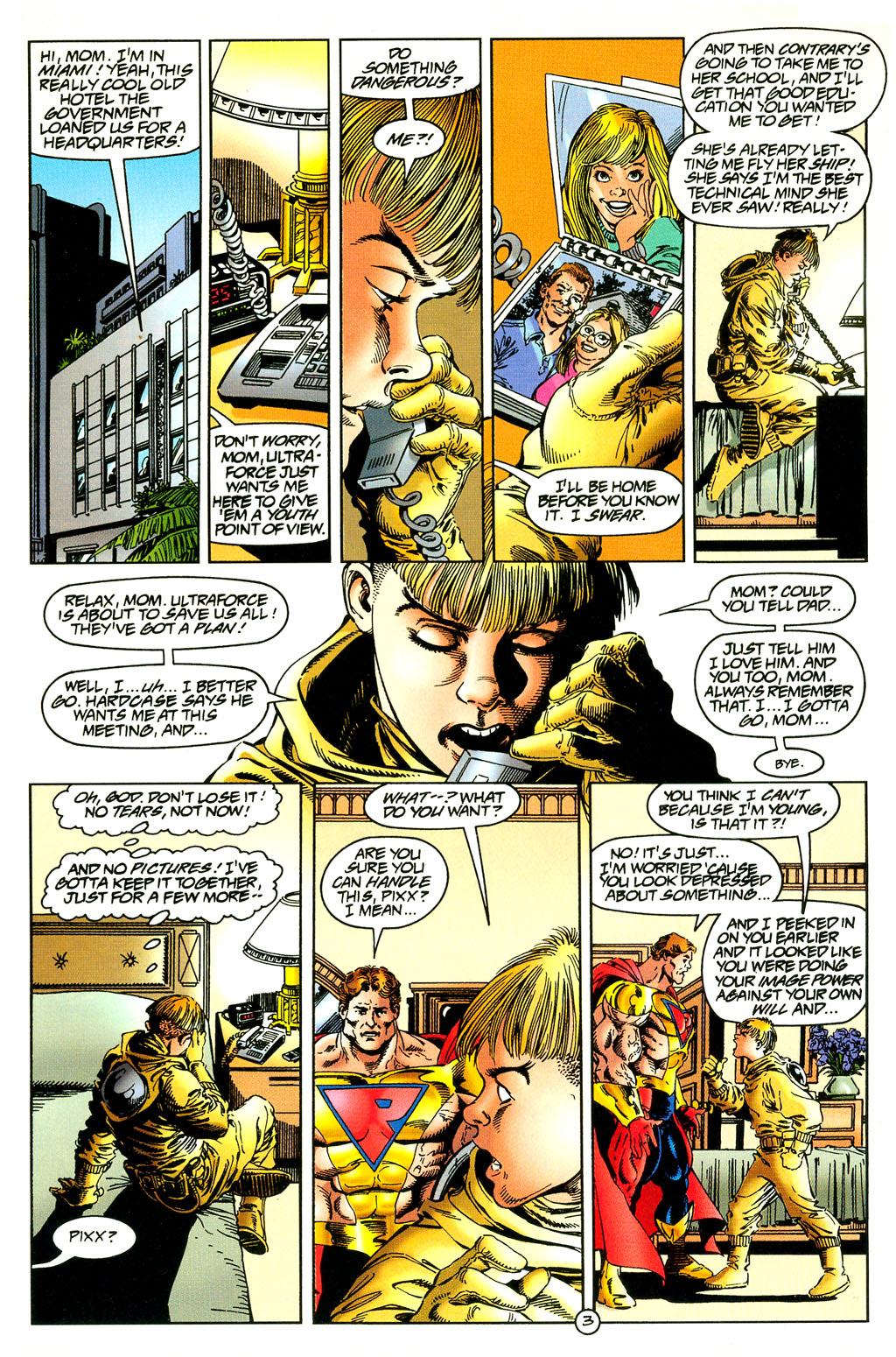 Read online UltraForce (1994) comic -  Issue #5 - 4