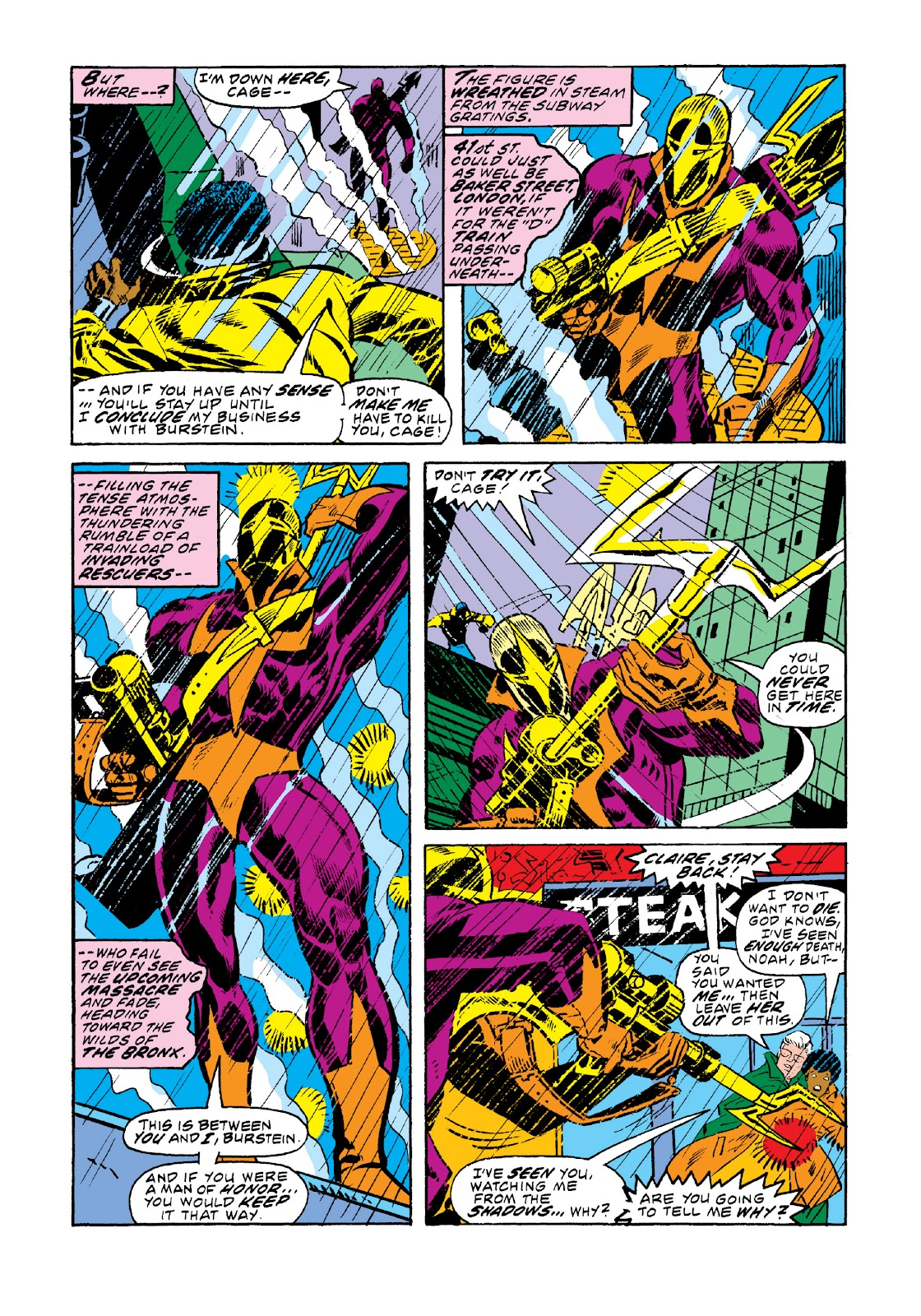 Read online Marvel Masterworks: Luke Cage, Power Man comic -  Issue # TPB 3 (Part 1) - 31