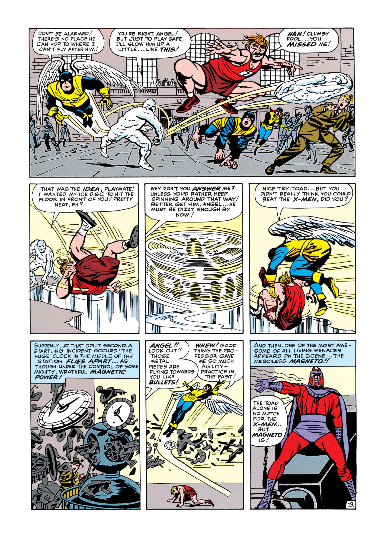 Read online Uncanny X-Men (1963) comic -  Issue #5 - 14