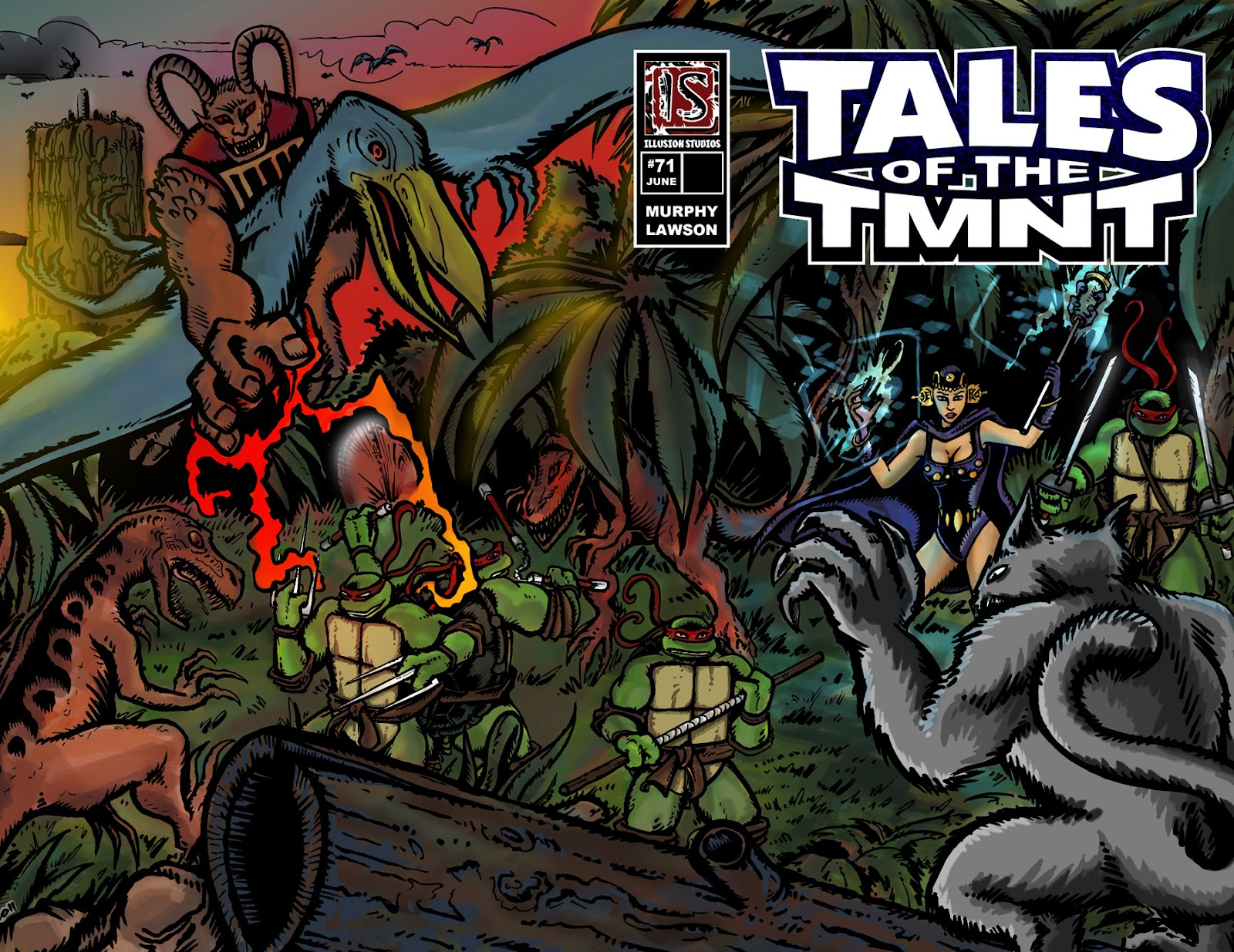 Read online Tales of the TMNT comic -  Issue #71 - 1