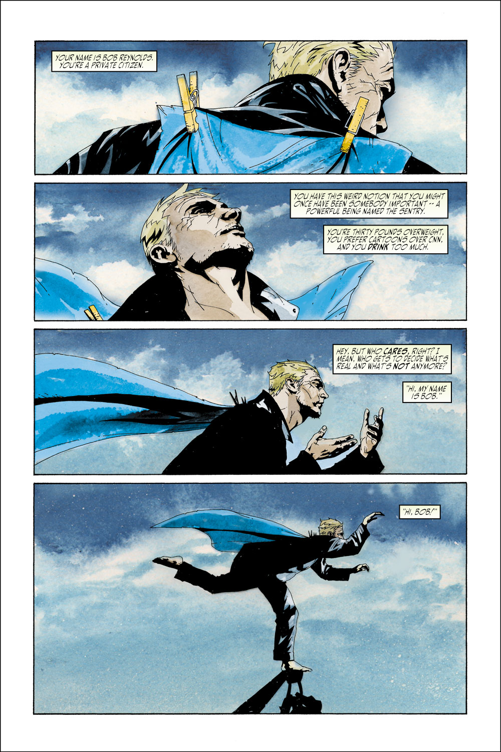 Read online Sentry (2000) comic -  Issue #2 - 3