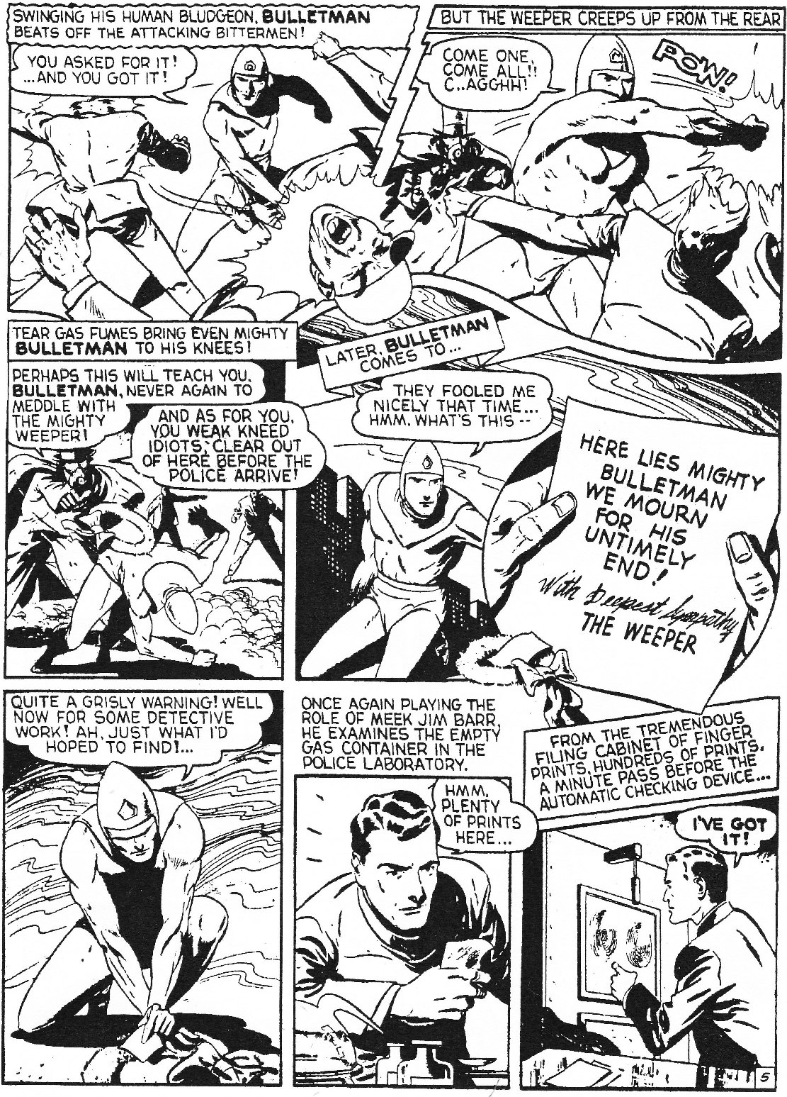 Read online Men of Mystery Comics comic -  Issue #74 - 7