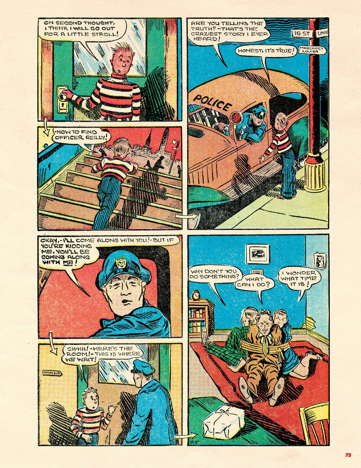 Read online Super Weird Heroes comic -  Issue # TPB 2 (Part 1) - 75