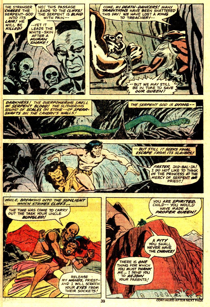 Read online Tarzan (1977) comic -  Issue # _Annual 2 - 31