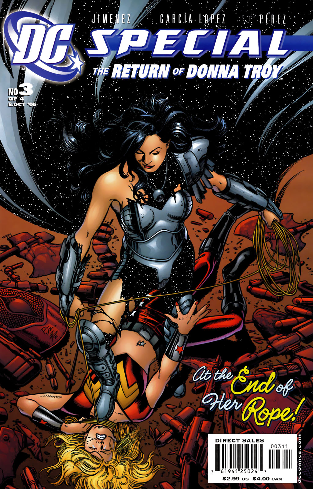 DC Special: The Return of Donna Troy 3 Page 1
