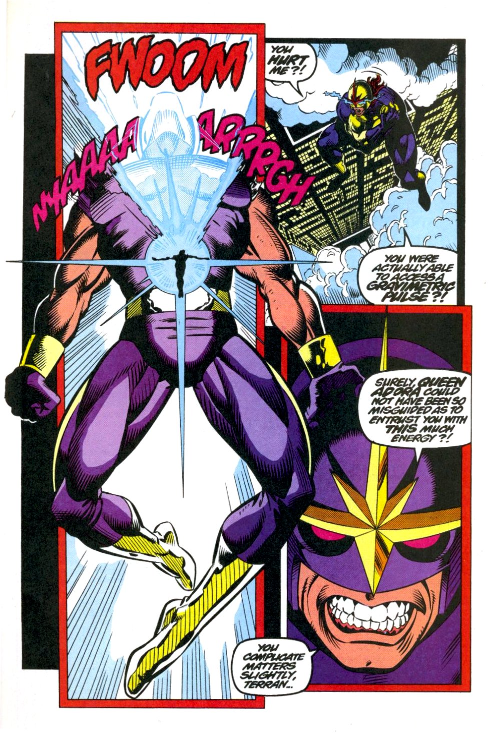 The New Warriors Issue #40 #44 - English 20