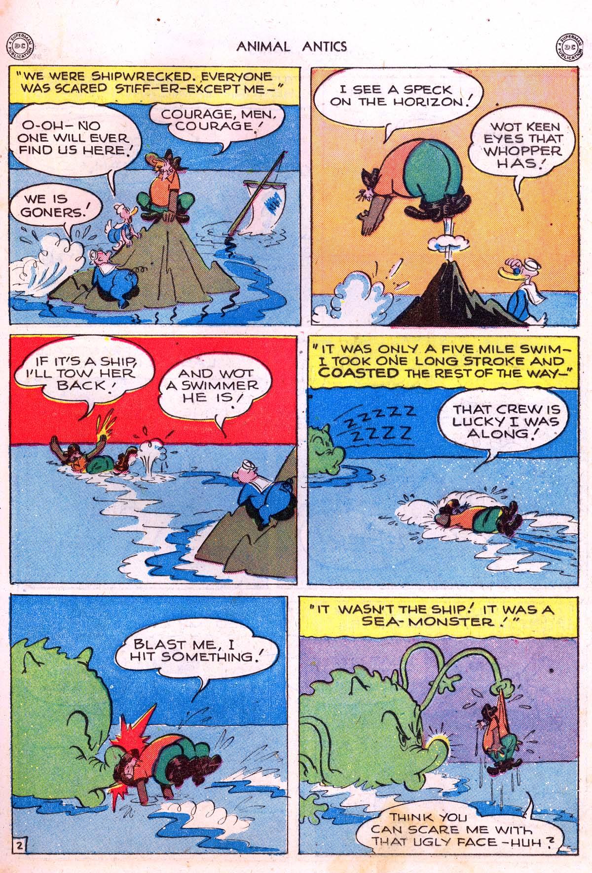 Read online Animal Antics comic -  Issue #5 - 23