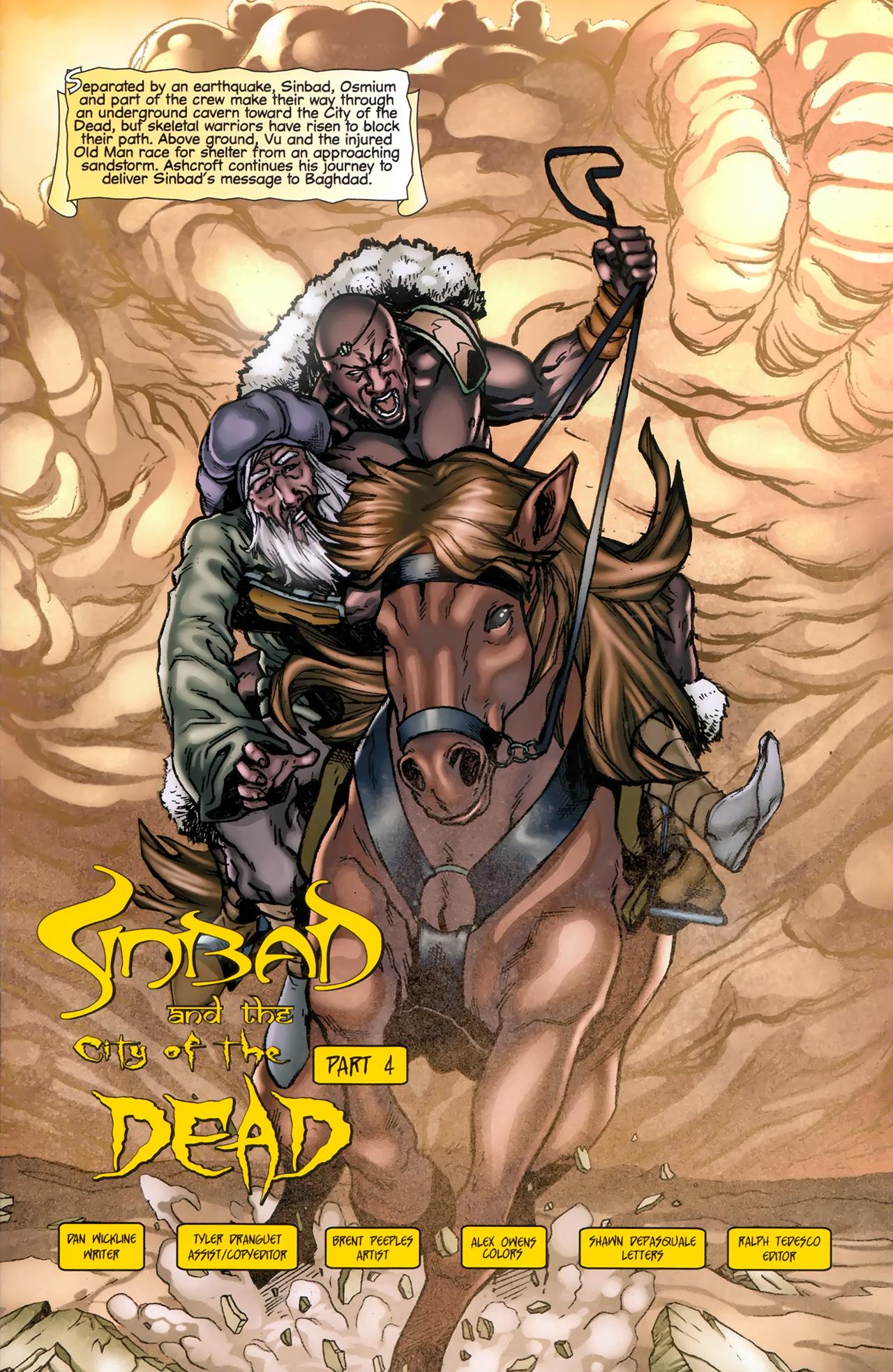 Read online 1001 Arabian Nights: The Adventures of Sinbad comic -  Issue #11 - 3