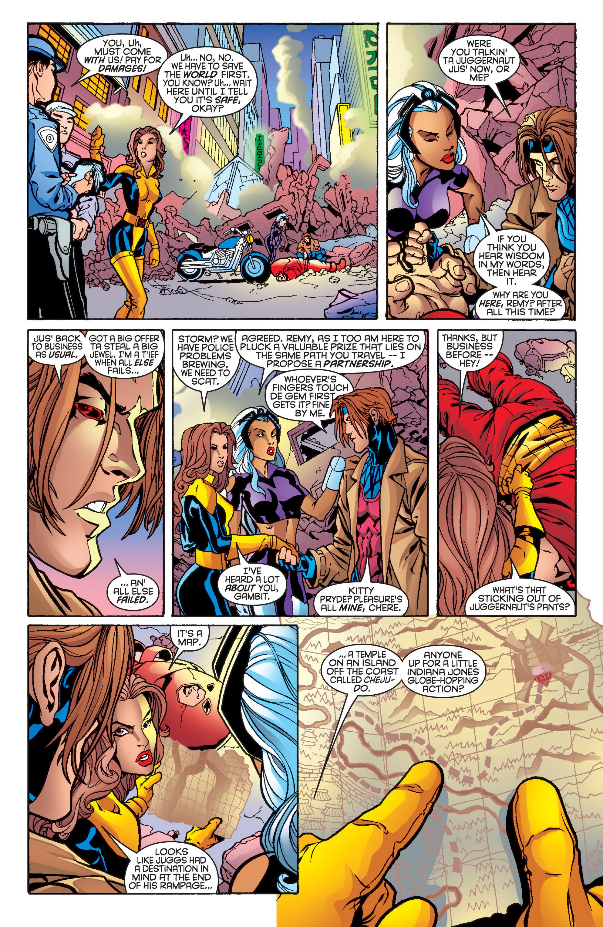 Read online Uncanny X-Men (1963) comic -  Issue #361 - 16