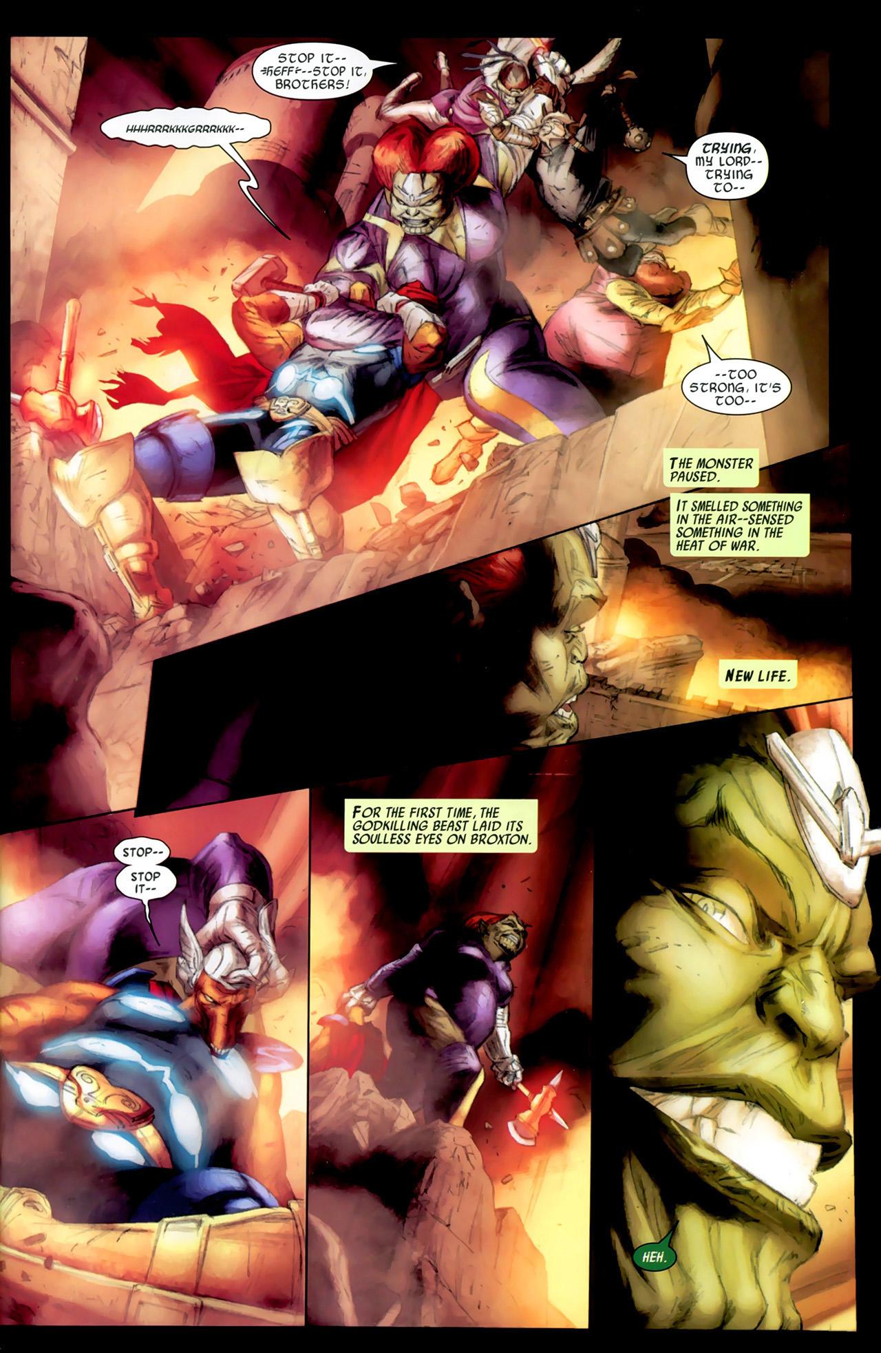 Read online Secret Invasion: Thor comic -  Issue #2 - 21
