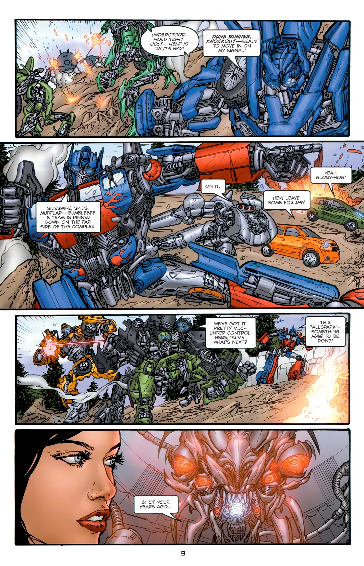 Read online Transformers: Nefarious comic -  Issue #6 - 11