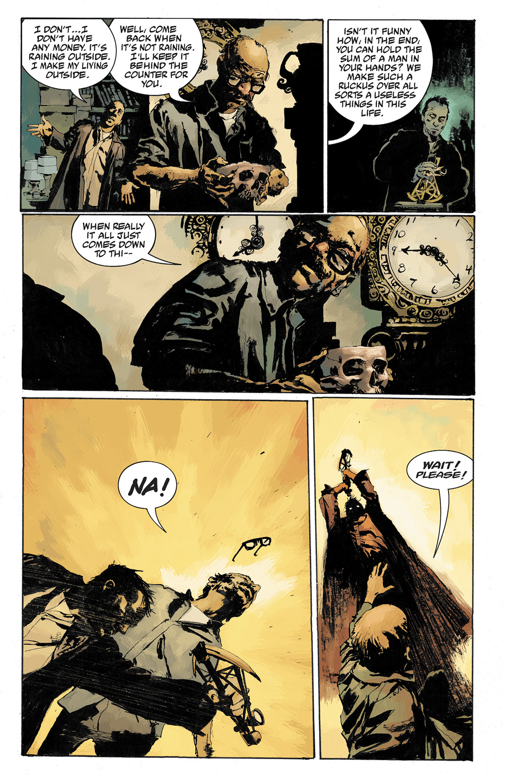 Read online Hellboy: The Crooked Man and Others comic -  Issue # TPB - 87