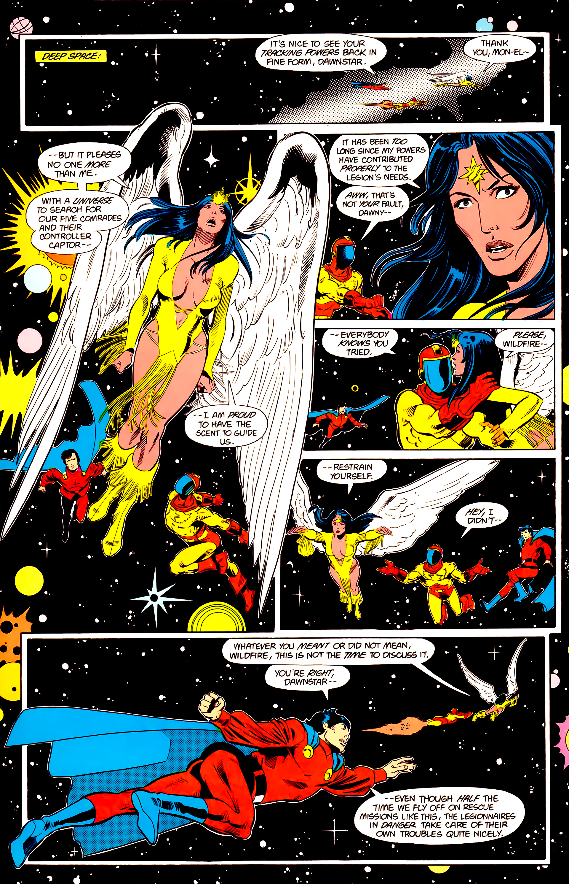 Legion of Super-Heroes (1984) 20 Page 7