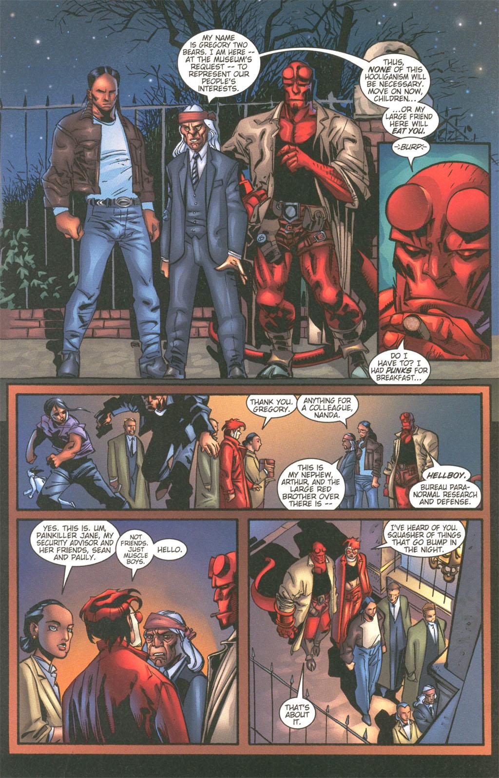 Read online Painkiller Jane/Hellboy comic -  Issue # Full - 6