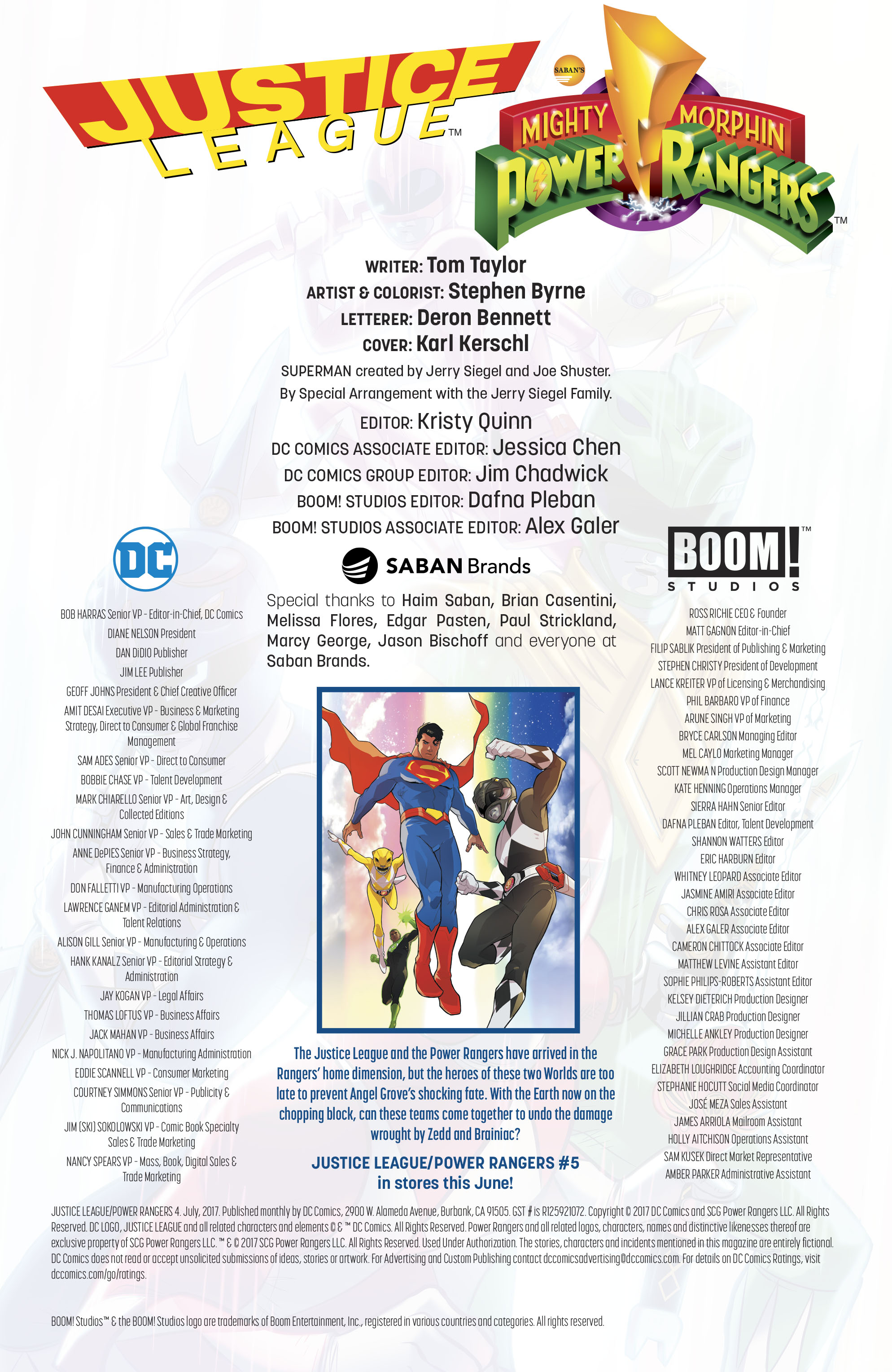 Read online Justice League/Mighty Morphin' Power Rangers comic -  Issue #4 - 26