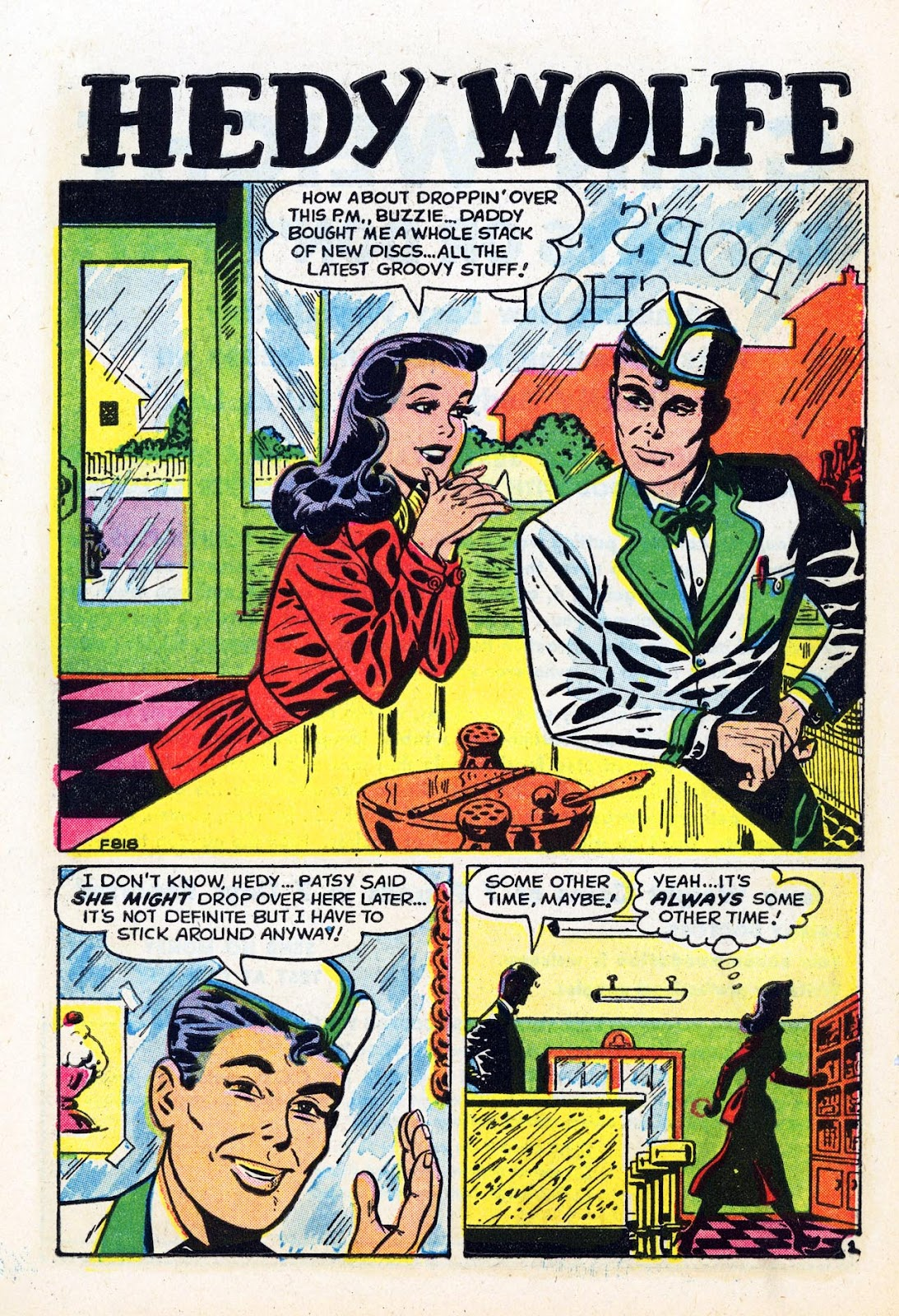 Read online Patsy Walker comic -  Issue #58 - 10