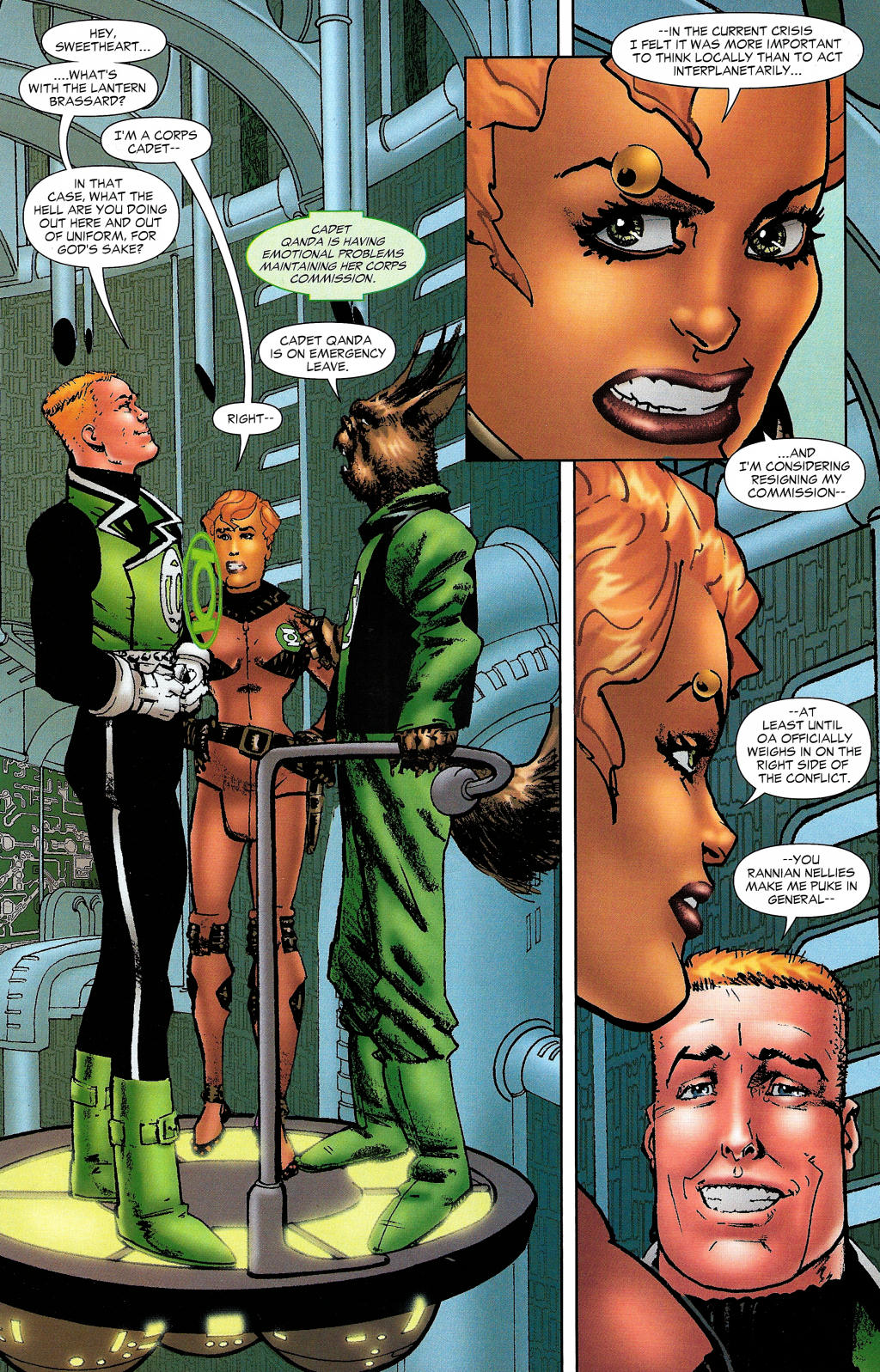 Read online Guy Gardner: Collateral Damage comic -  Issue #1 - 25