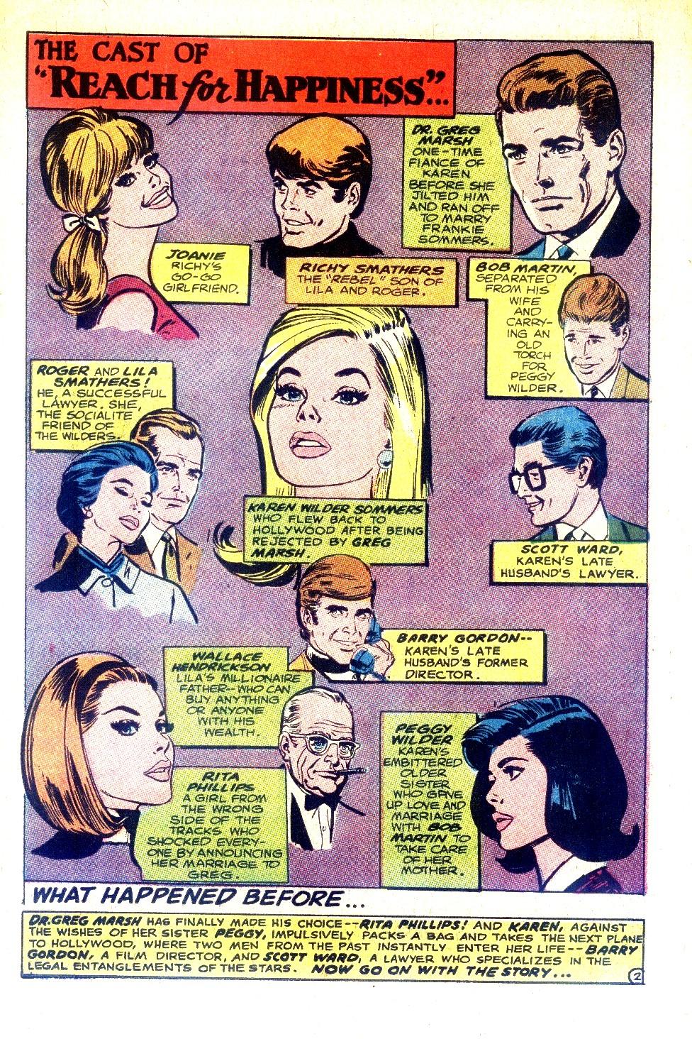 Read online Secret Hearts comic -  Issue #128 - 19