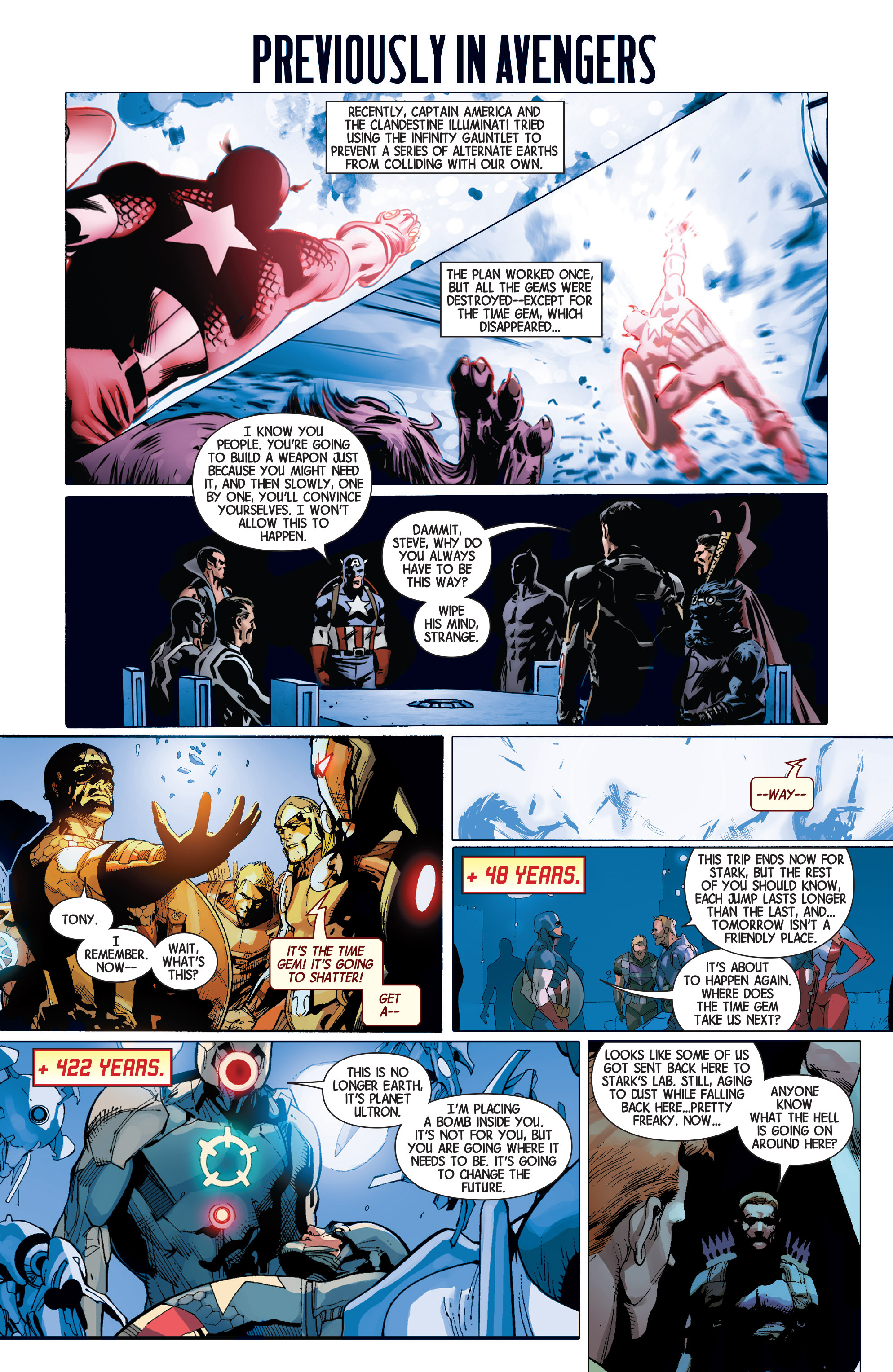 Read online Avengers (2013) comic -  Issue #32 - 2