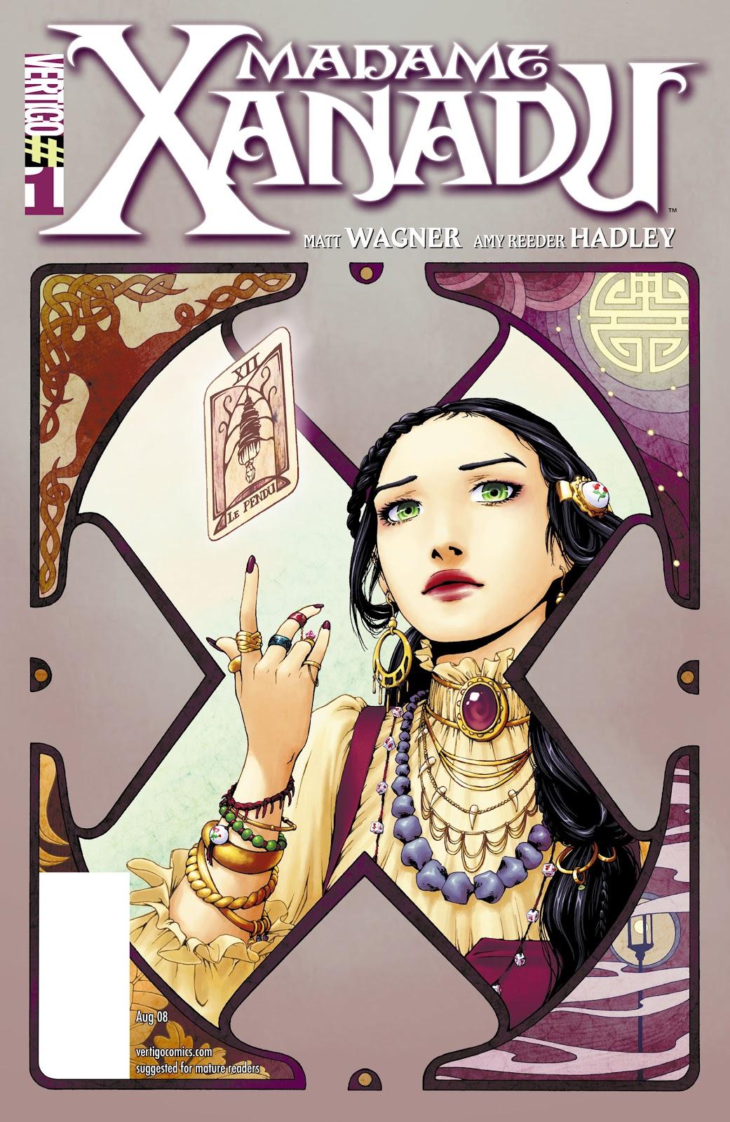 Madame Xanadu issue 1 - Page 1