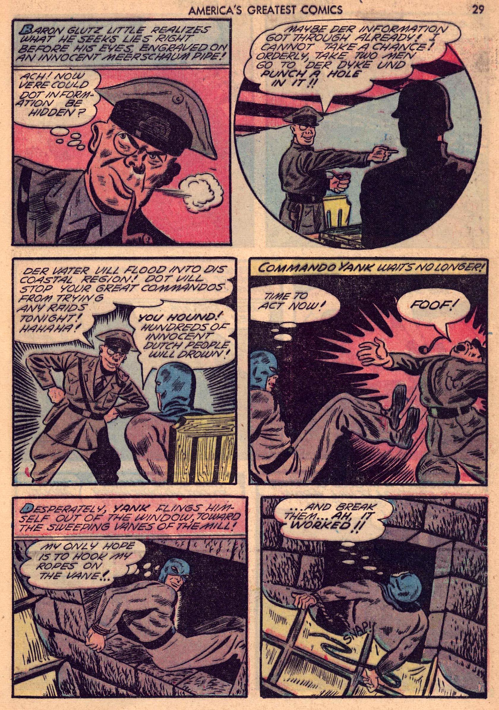 Read online America's Greatest Comics comic -  Issue #7 - 28